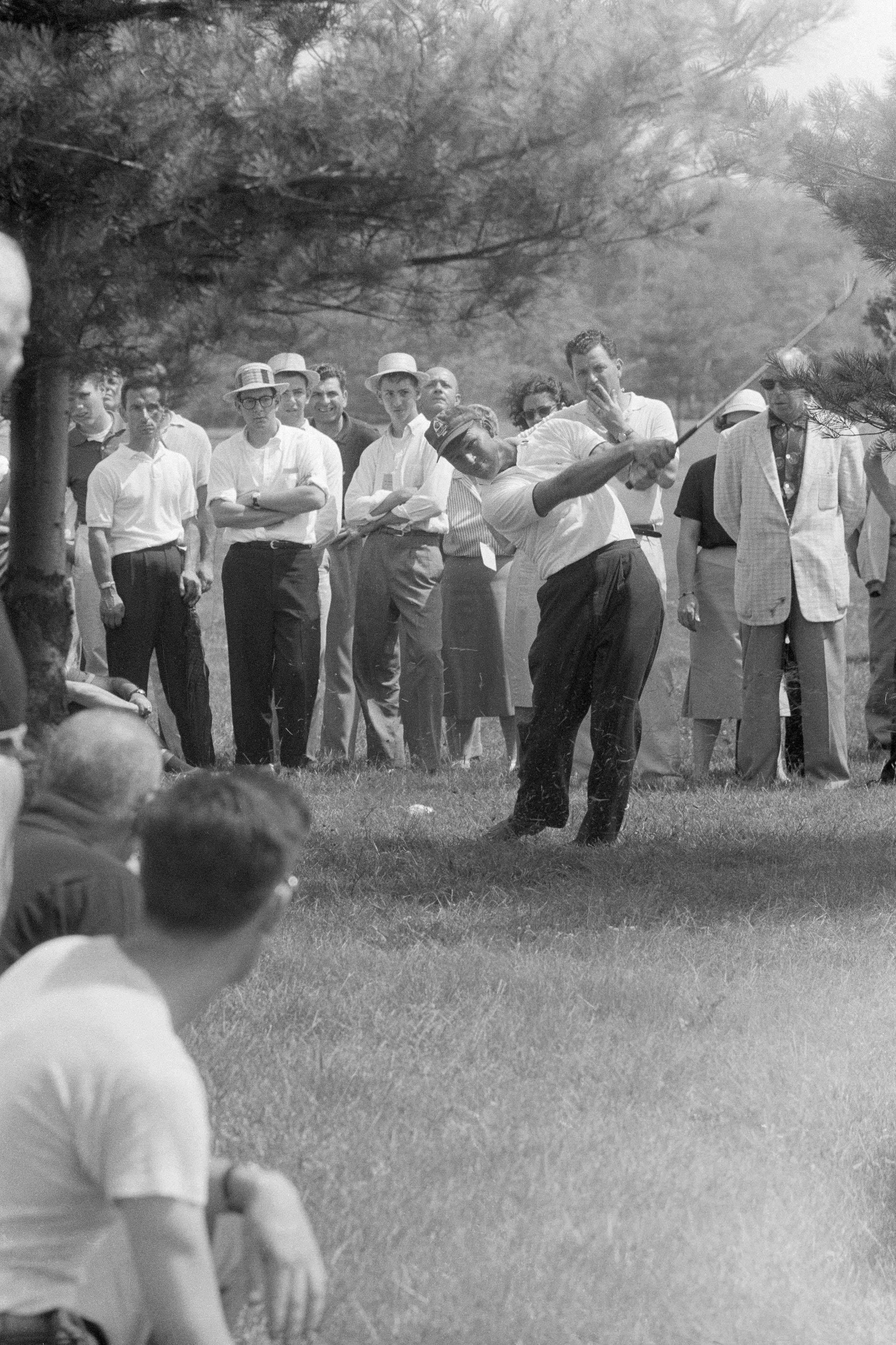 7. 1956: Palmer's first U.S. win