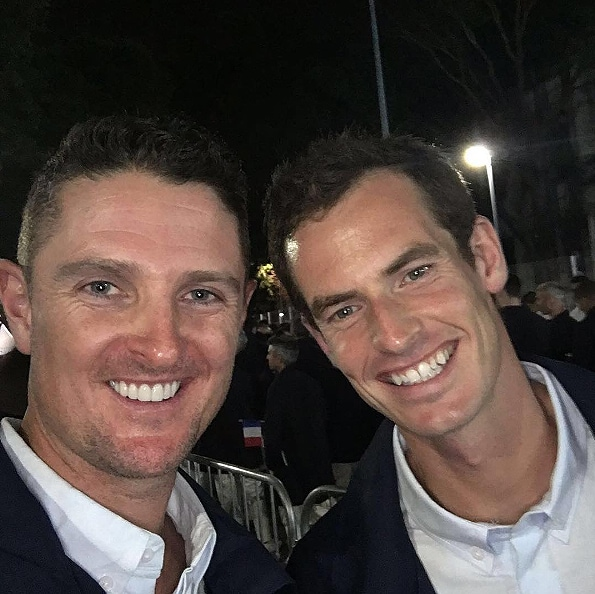 Justin Rose and Andy Murray