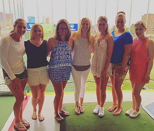 Paula Creamer, Morgan Pressel, Brittany Lincicome and Brittany Lang