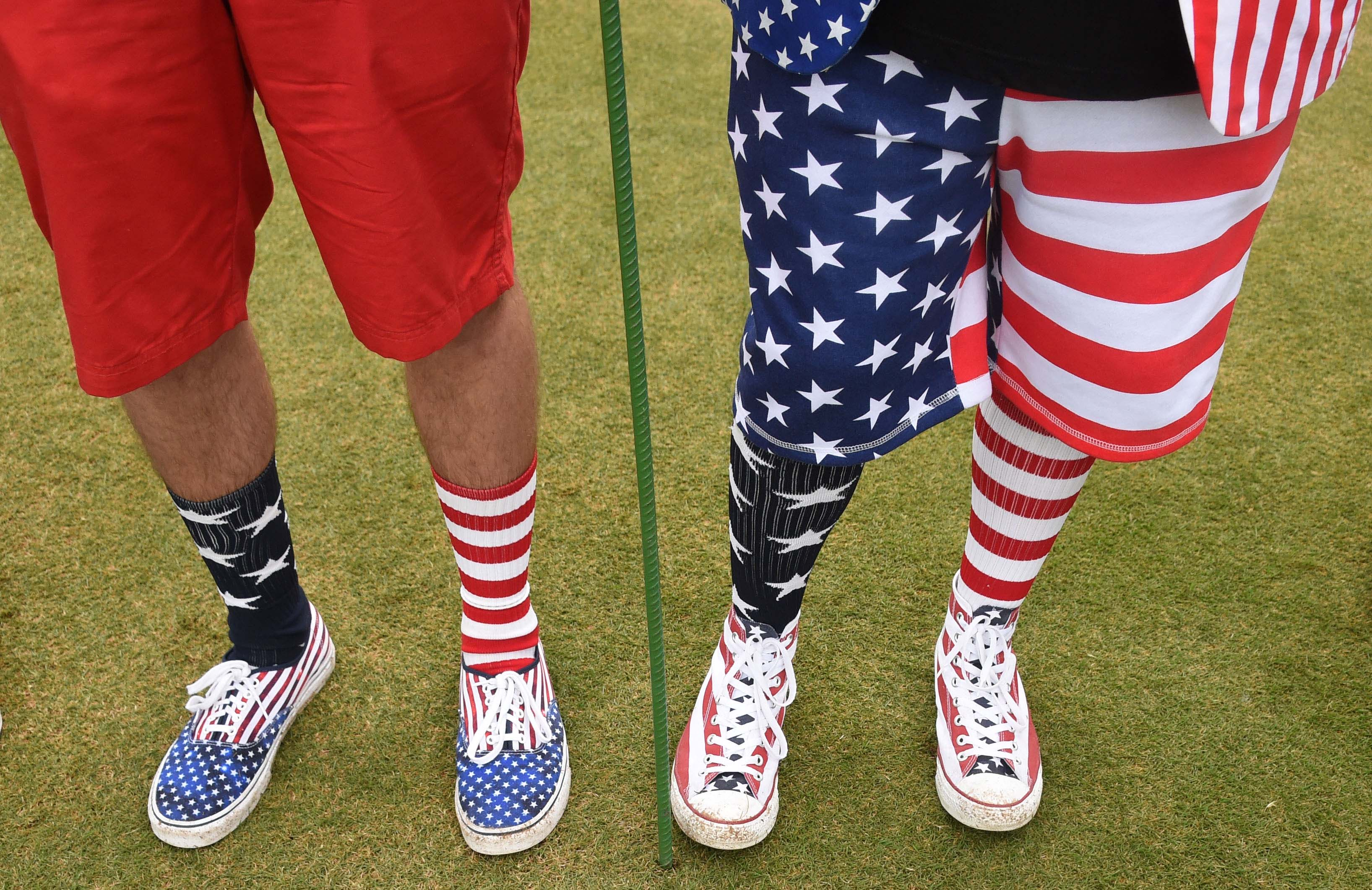What the well dressed U.S. Olympic fan is wearing