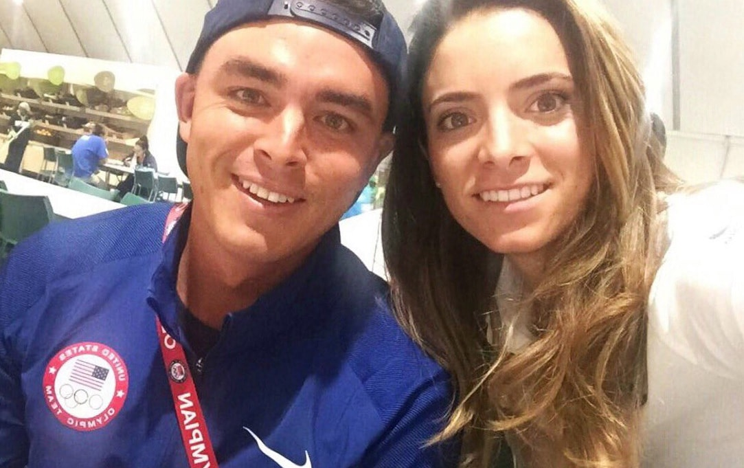 Gaby Lopez and Rickie Fowler