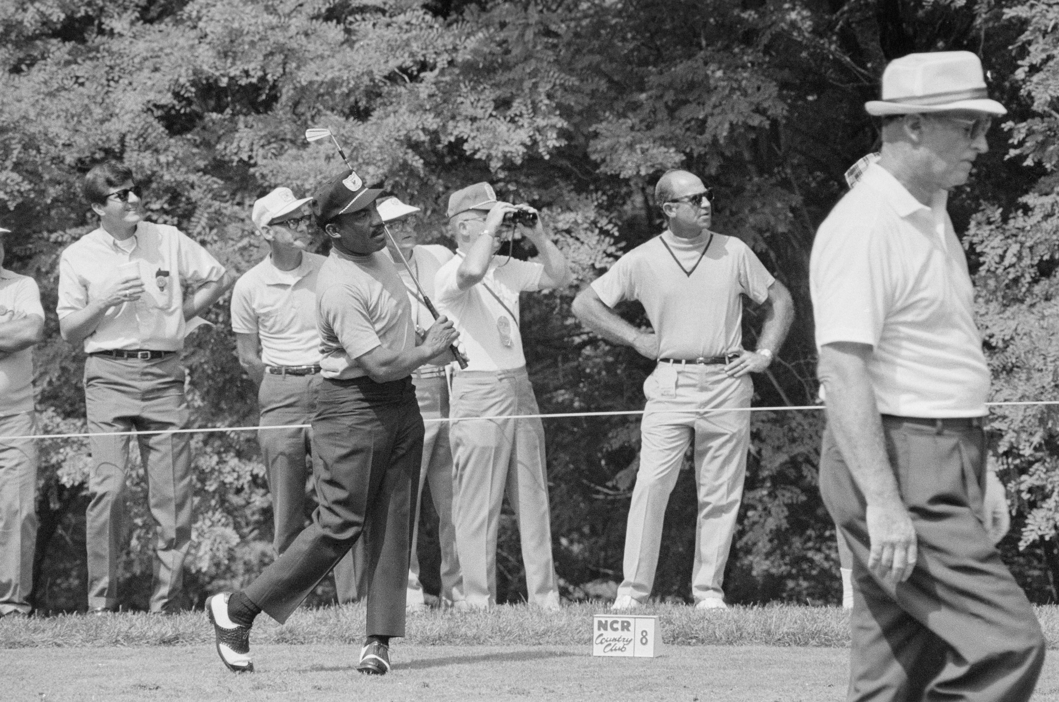 2. 1961: Sifford tees it up