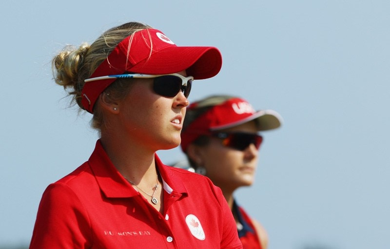 Brooke Henderson and Lexi Thompson