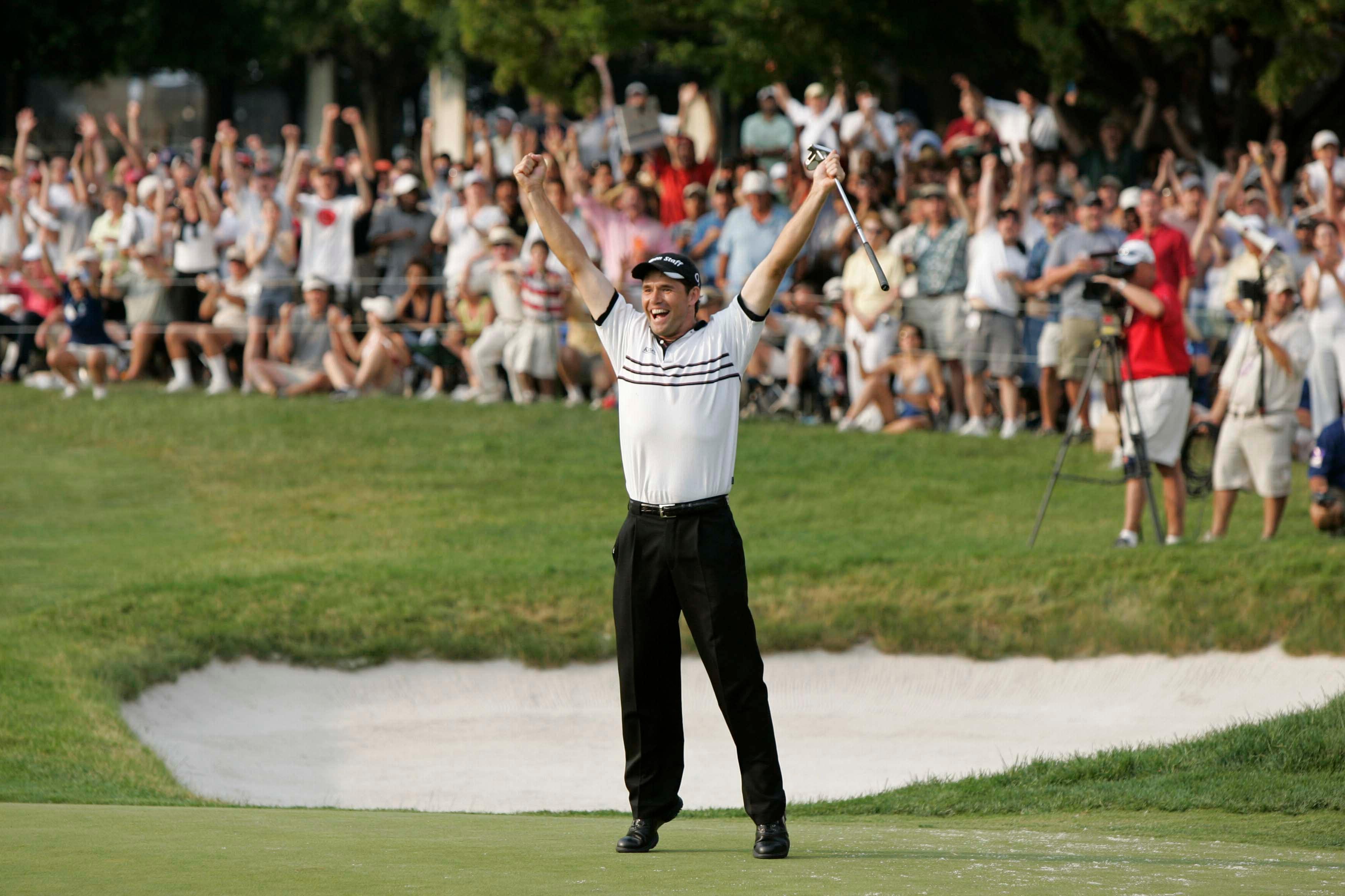 4. 2005: Harrington's winning eagle
