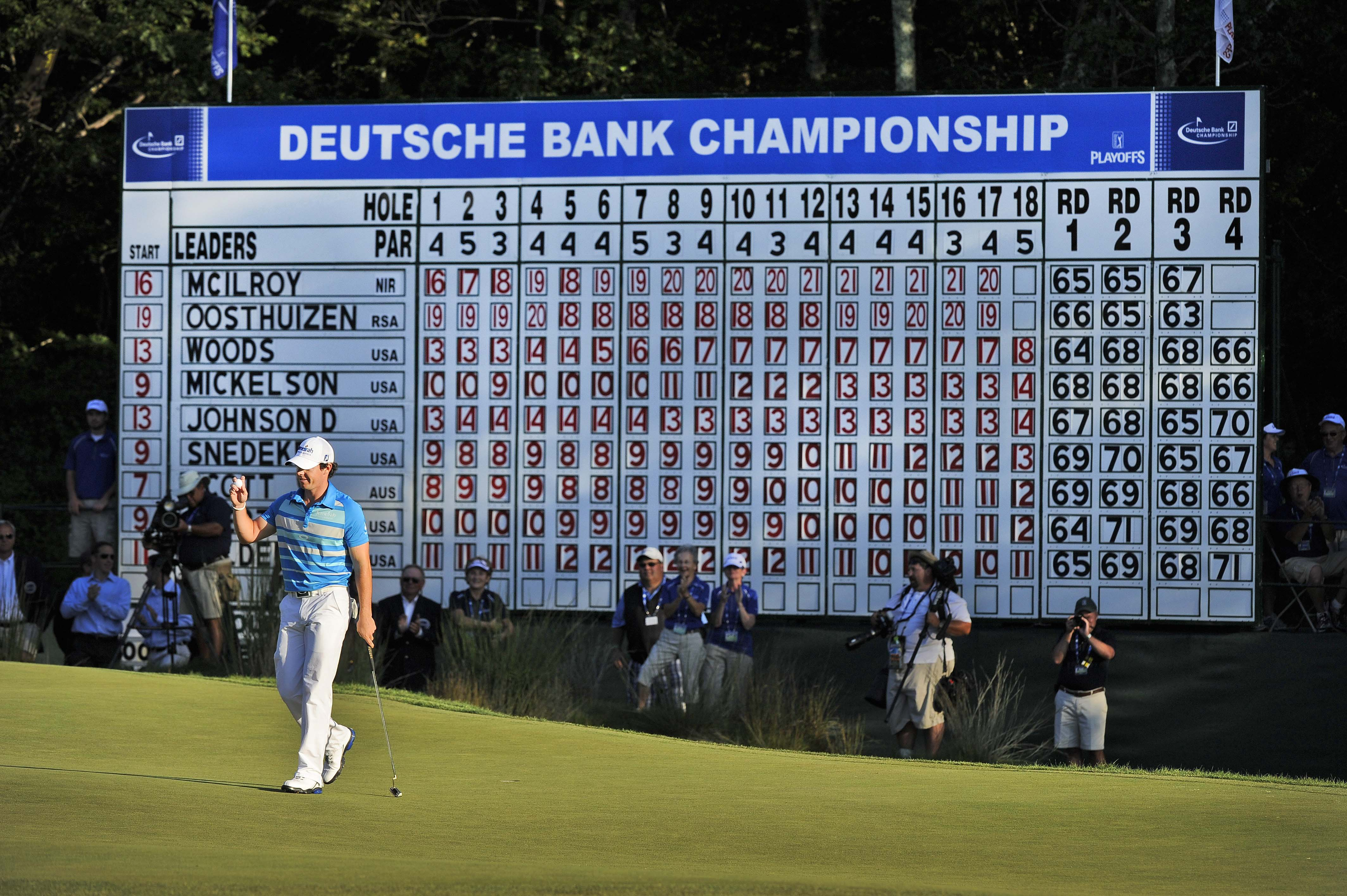 3. 2012: Rory wins, Tiger cashes in