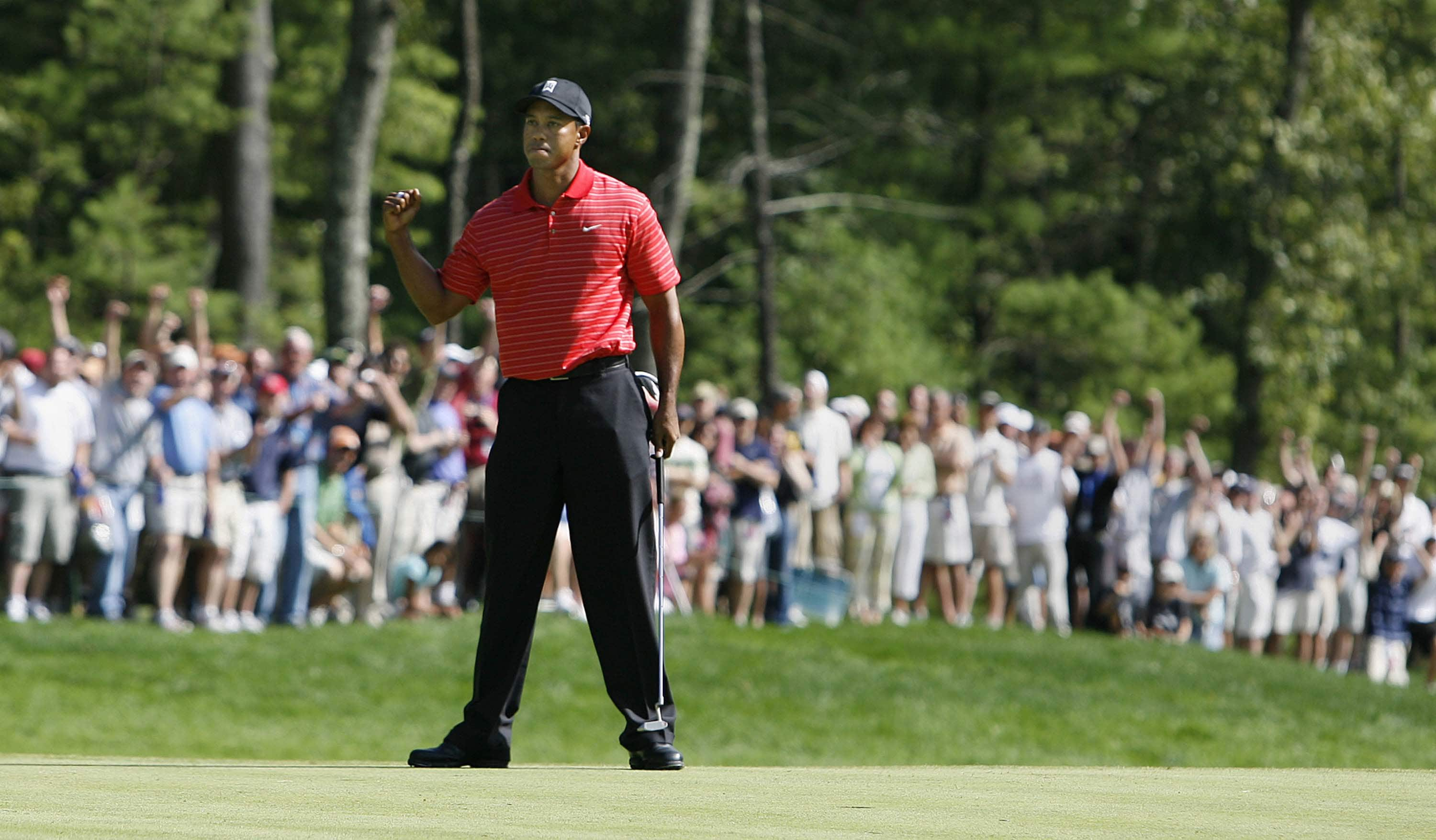 1. 2006: Five in a row for Woods