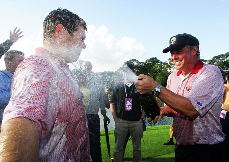 Lee Westwood and Darren Clarke