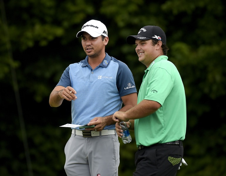 Jason Day and Patrick Reed