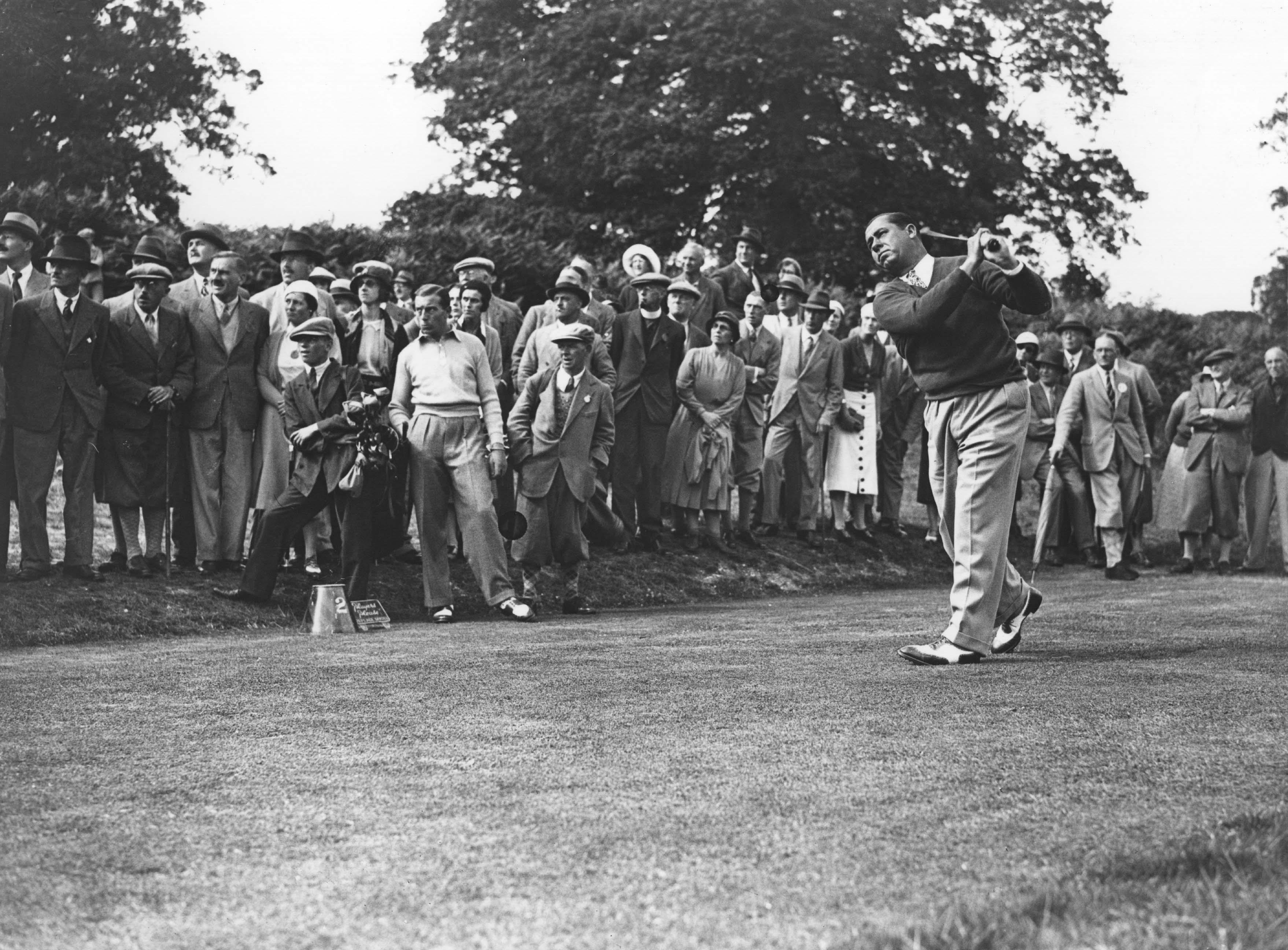 3. 1932: Hagen wins 5th Western Open