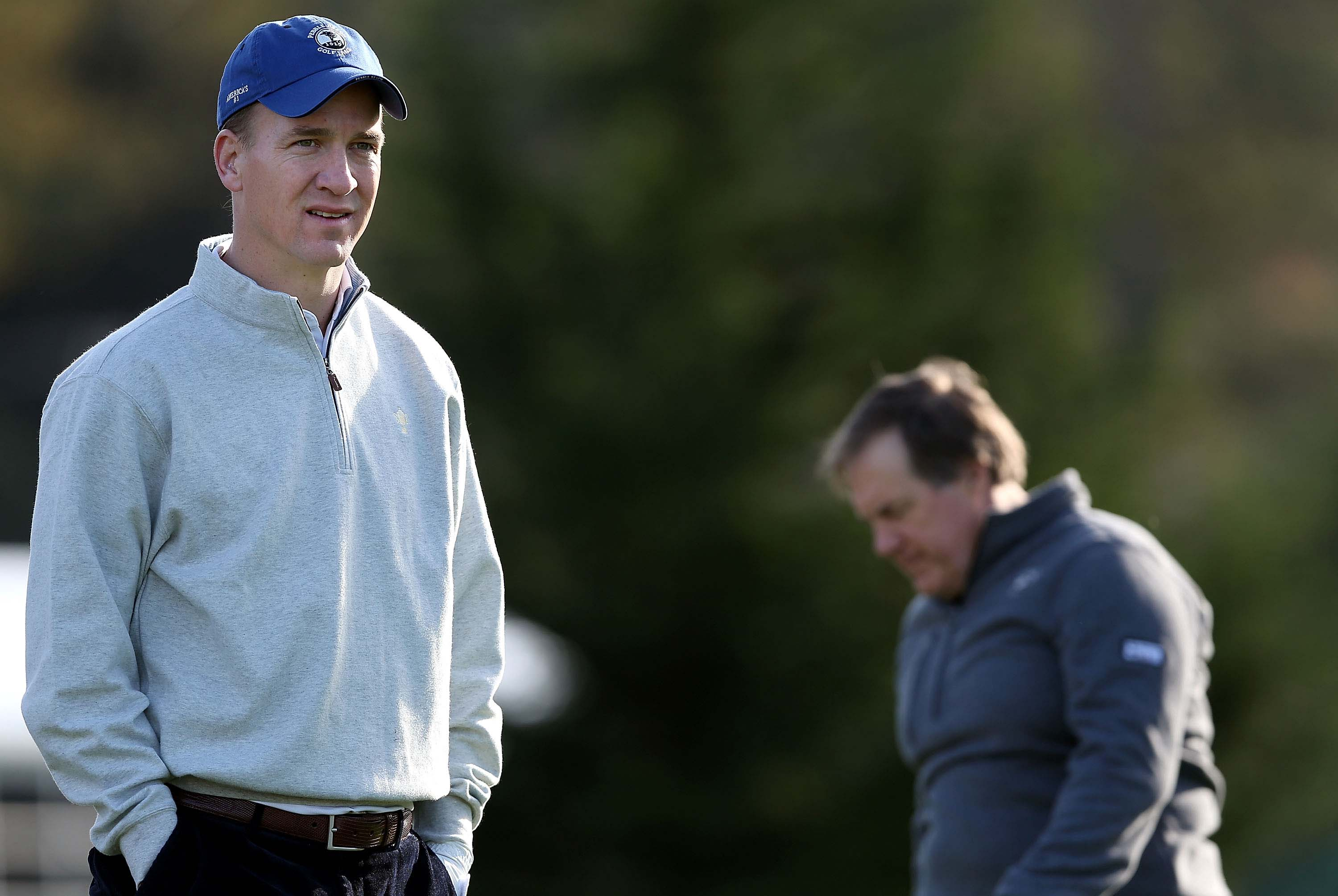 Peyton Manning and Bill Belichick