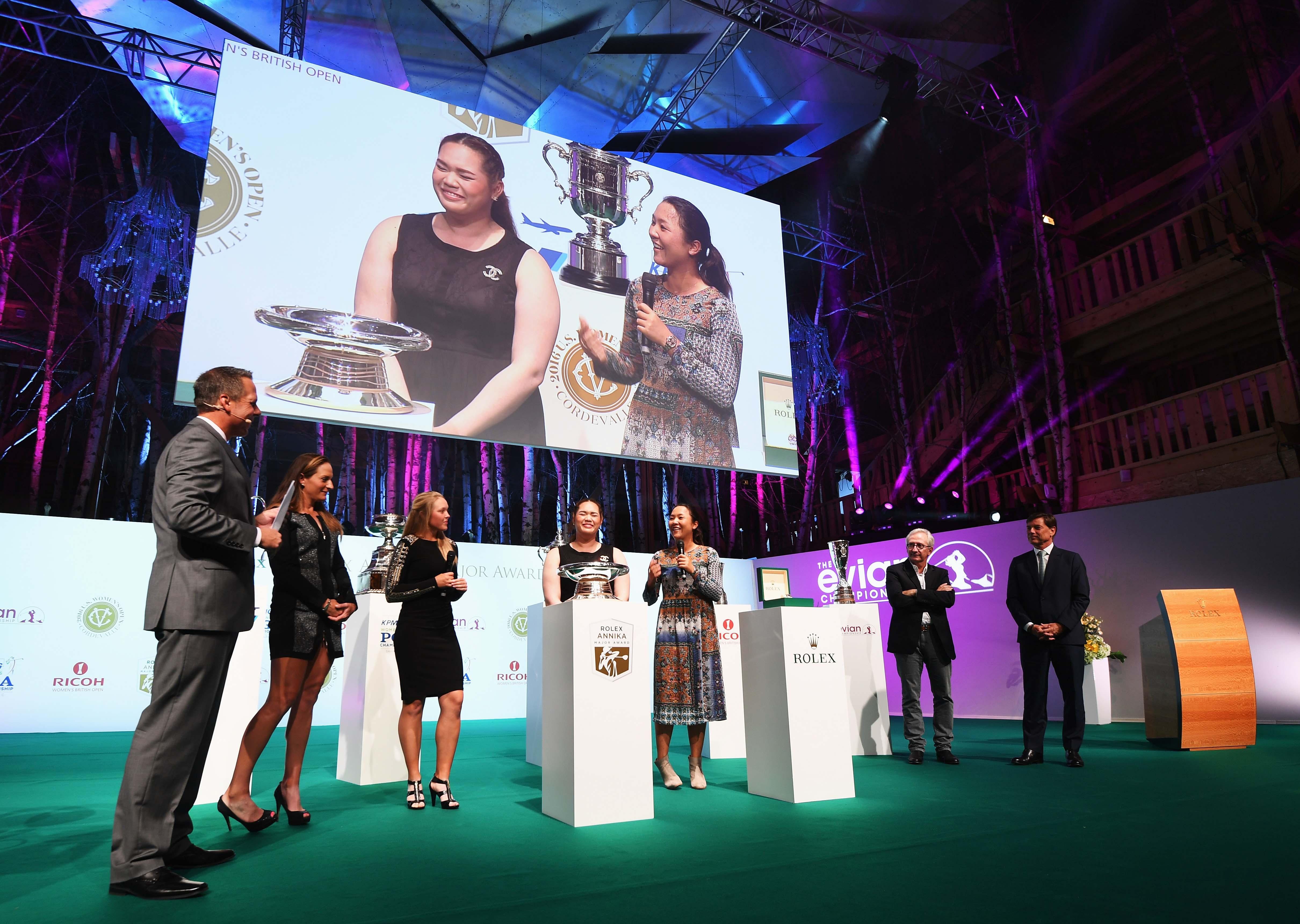 Rolex Annika Major Awards