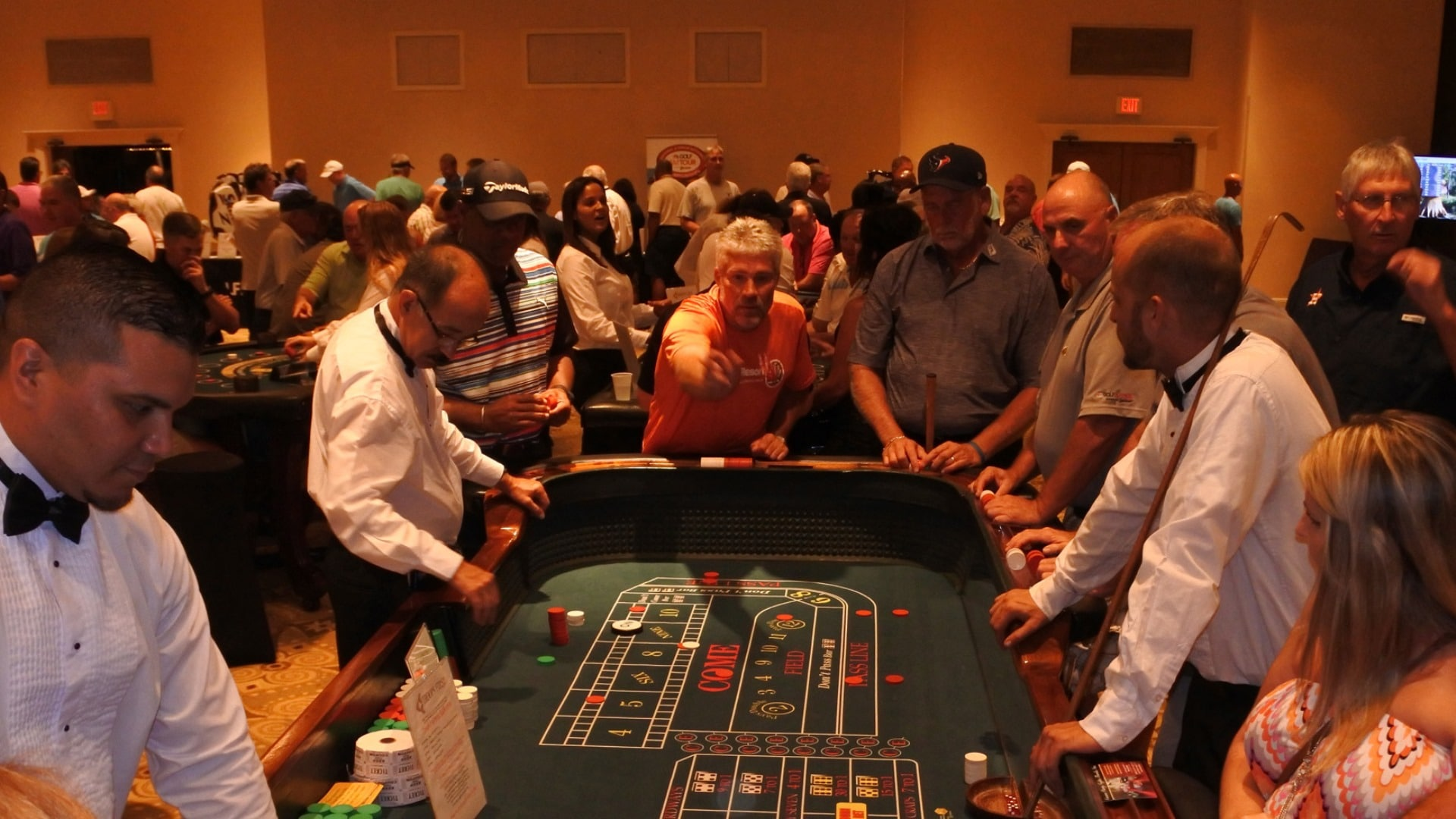 Casino Night at the Am Tour
