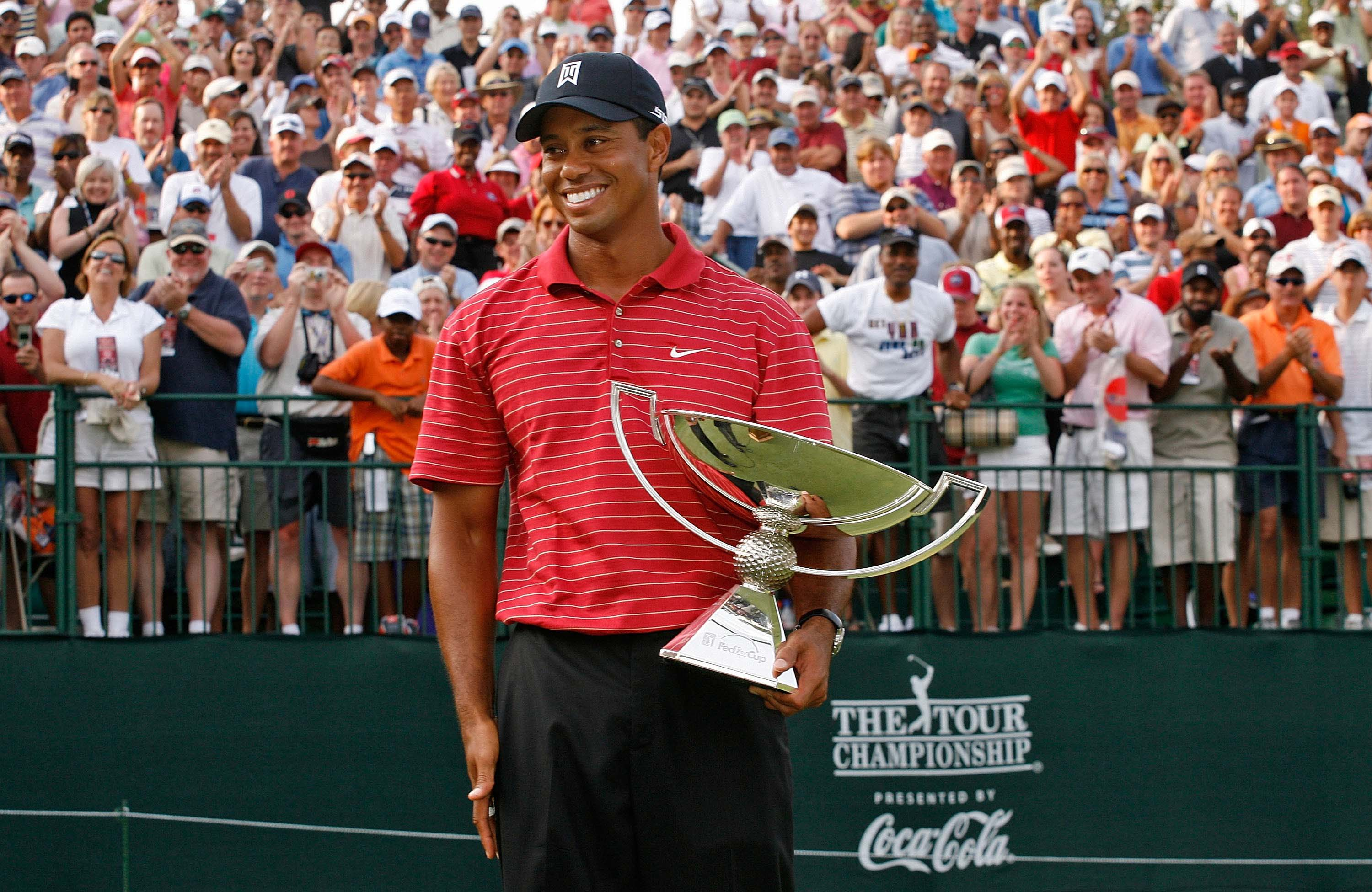 6. 2007: Tiger wins first FedEx Cup