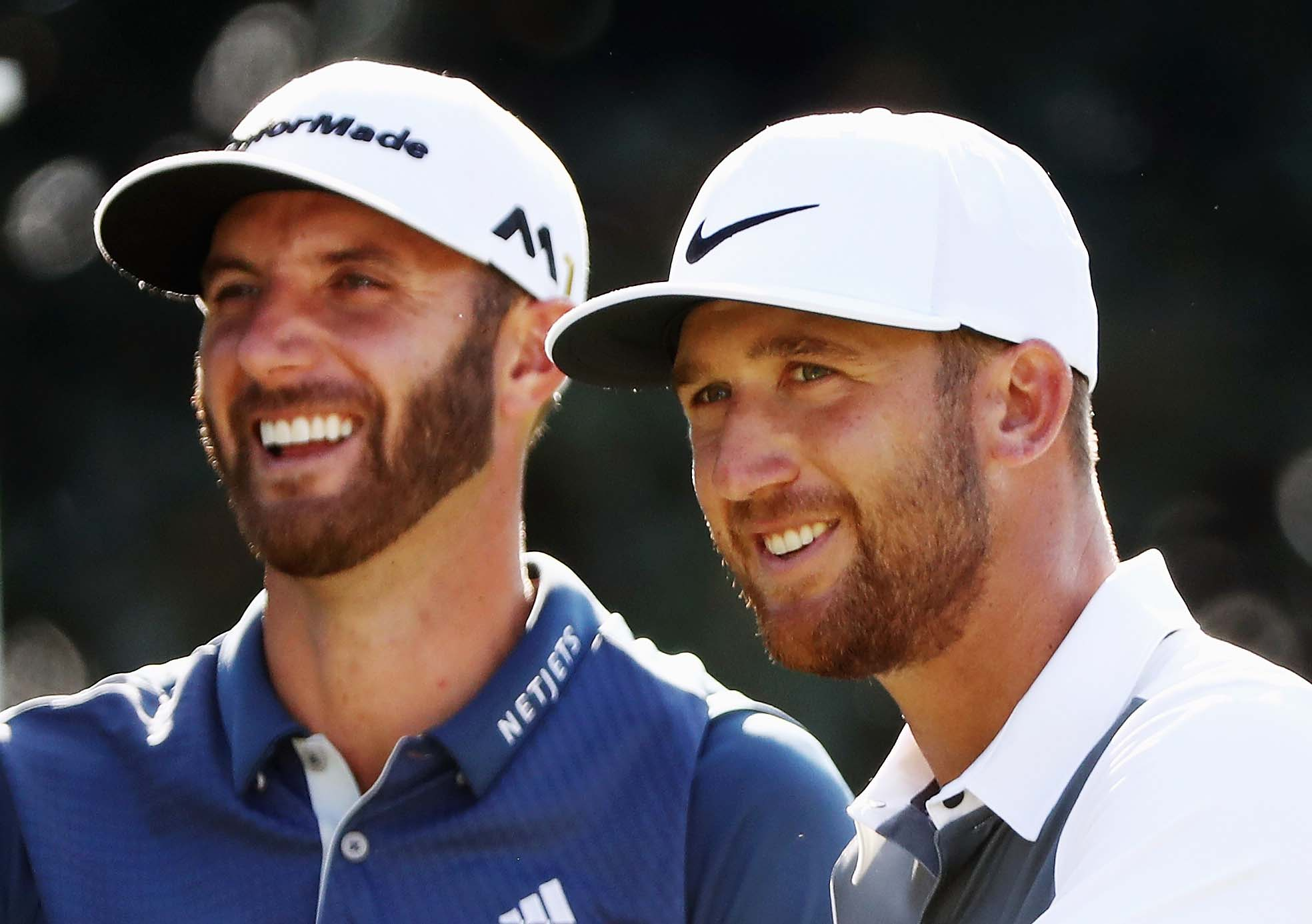 Dustin Johnson and Kevin Chappell