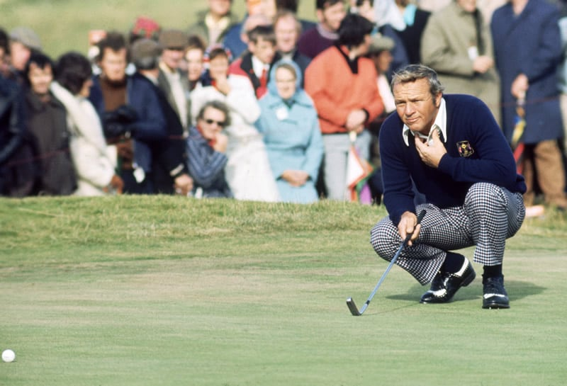 Palmer at the 1973 Ryder Cup