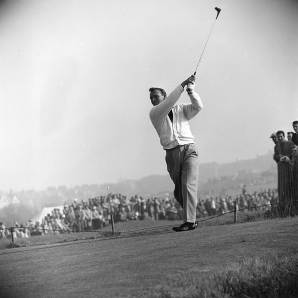 Palmer at the 1961 Ryder Cup
