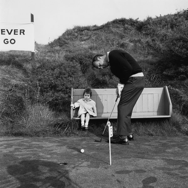 Palmer at the 1965 Ryder Cup