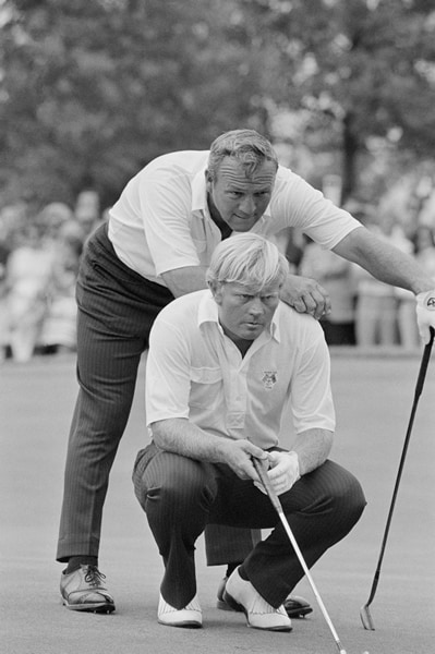 Palmer at the 1971 Ryder Cup
