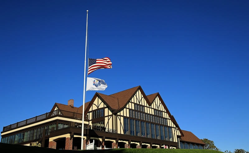 Tribute to Palmer at the 2016 Ryder Cup