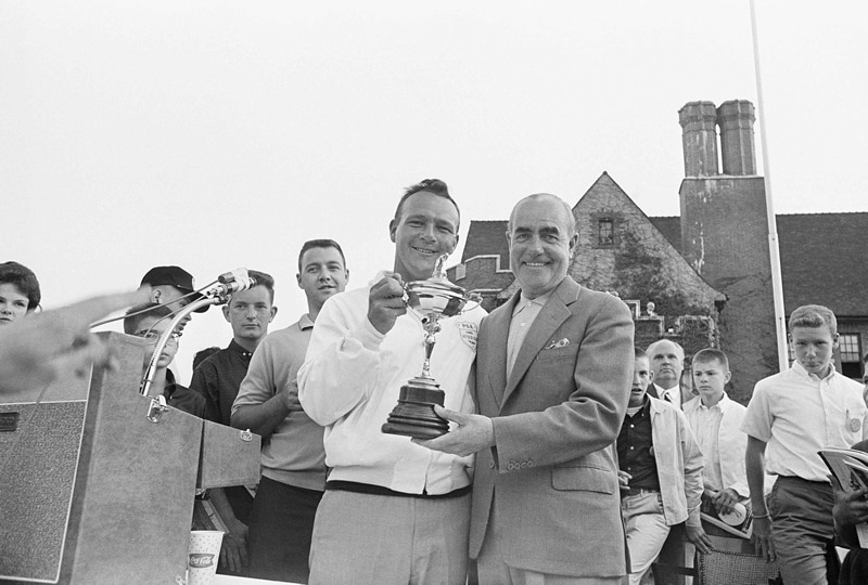 Palmer at the 1963 Ryder Cup