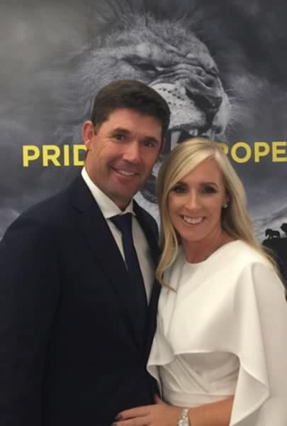 Padraig and Caroline Harrington