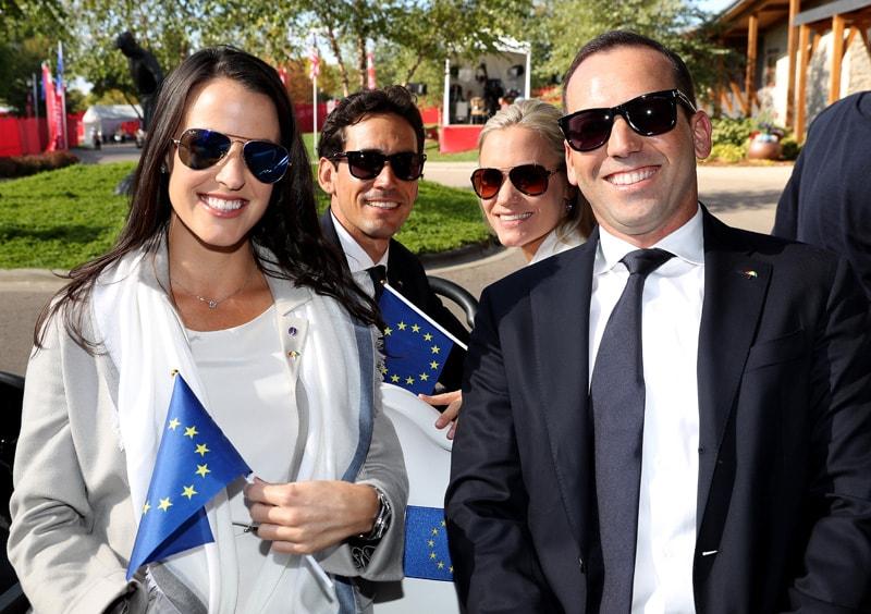 Angela Akins, Rafa Cabrera Bello, Sofia Lundstedt and Sergio Garcia
