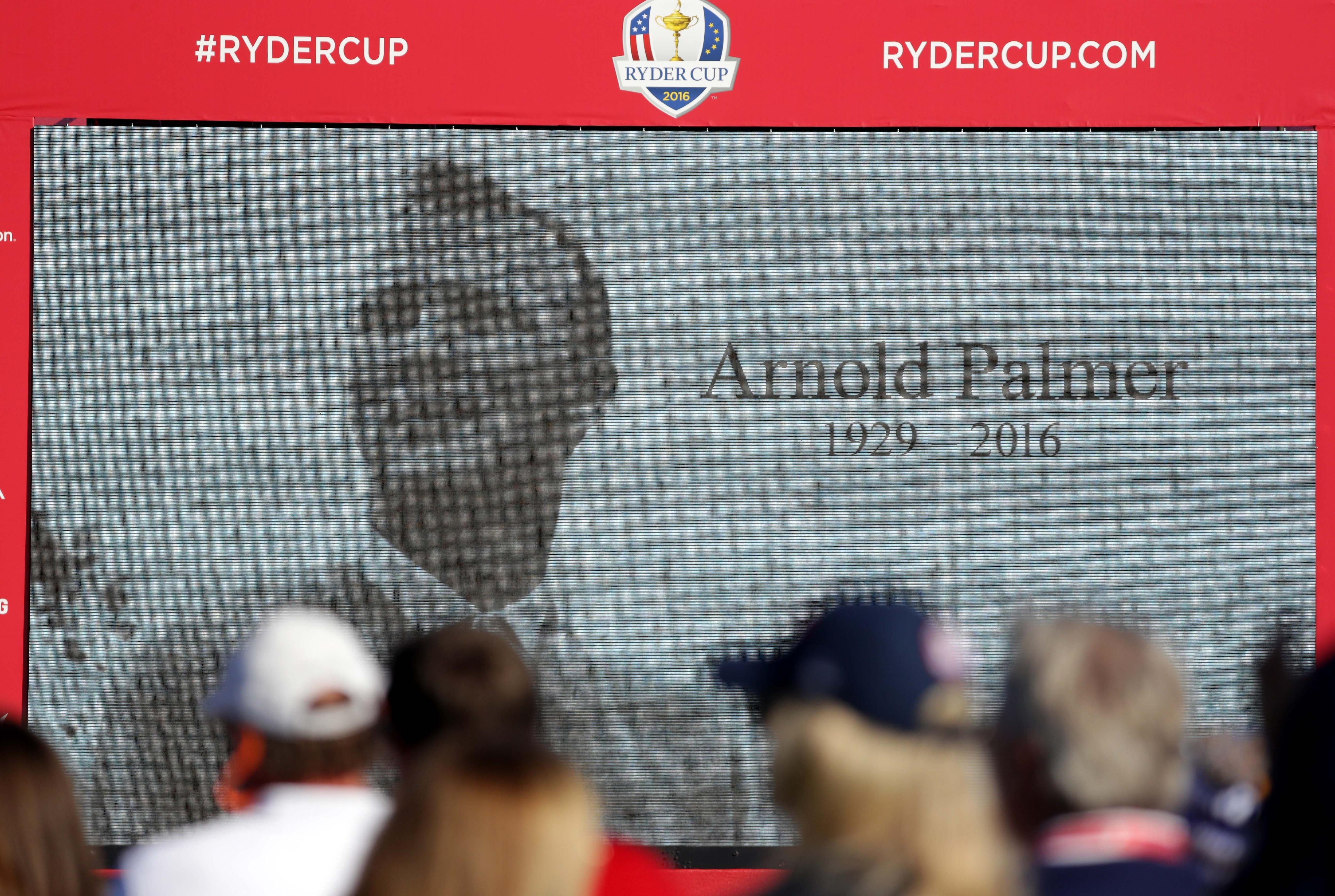 Arnold Palmer video