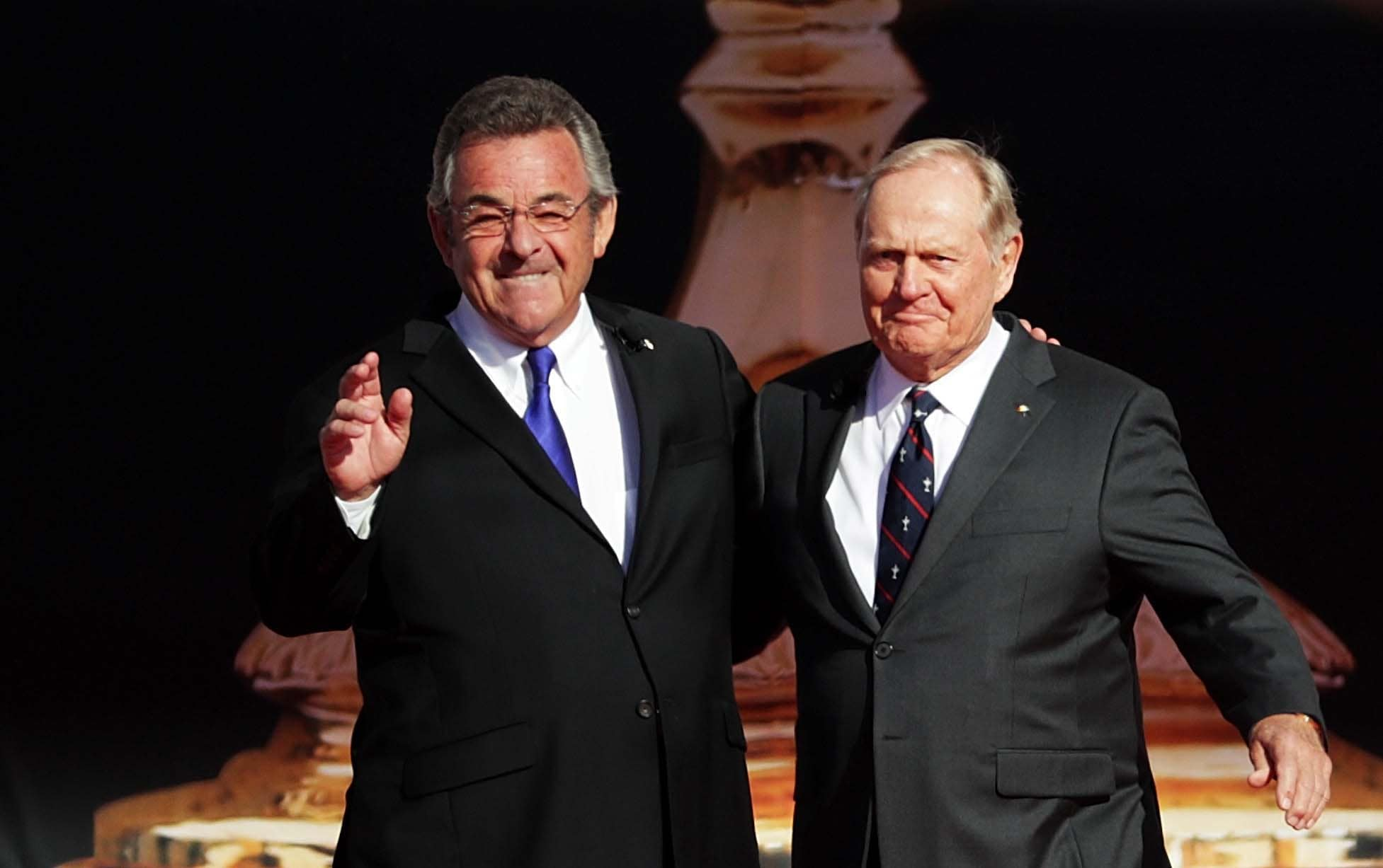 Tony Jacklin and Jack Nicklaus