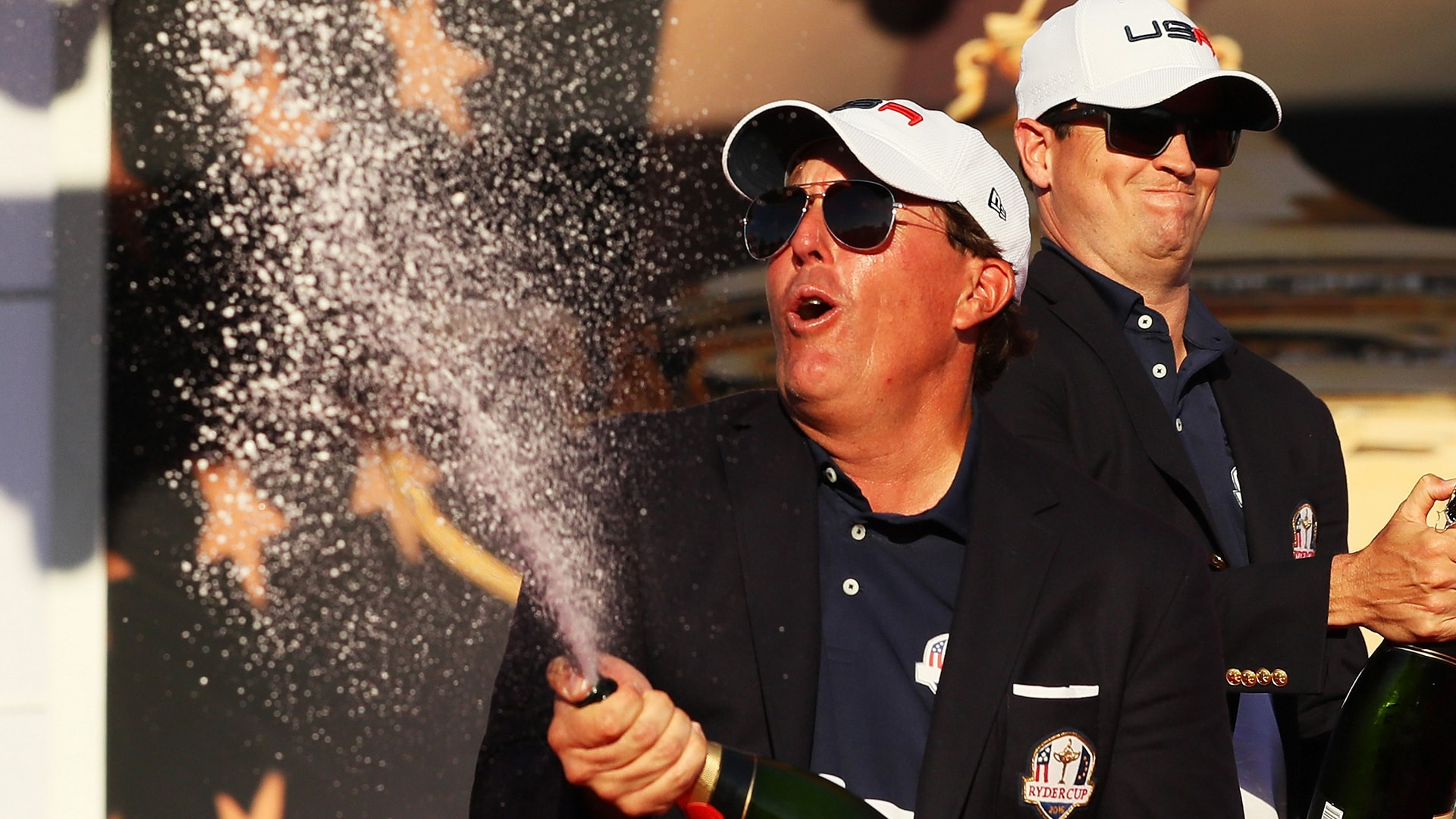 Mickelson at 2016 Ryder Cup