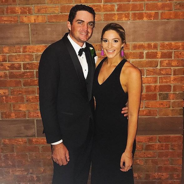 Keegan Bradley and Jillian Stacey