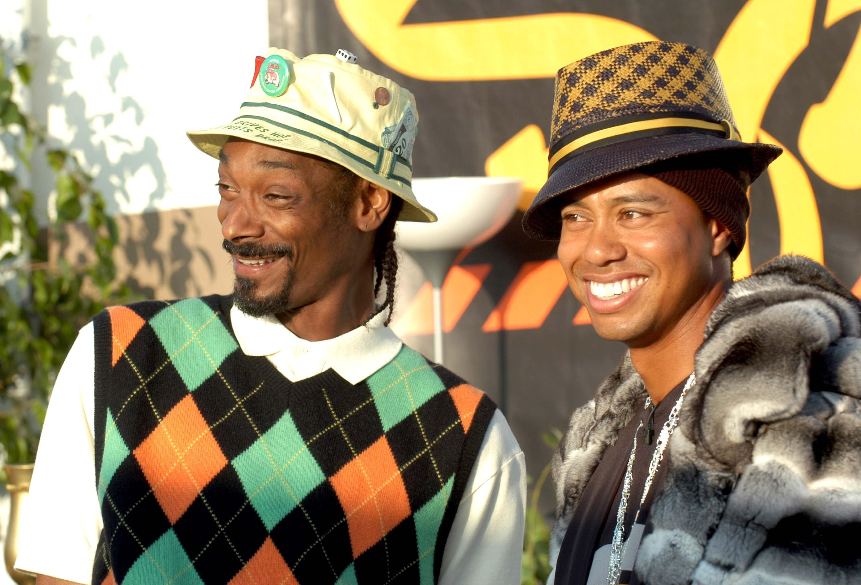 Tiger Woods and Snoop Dogg