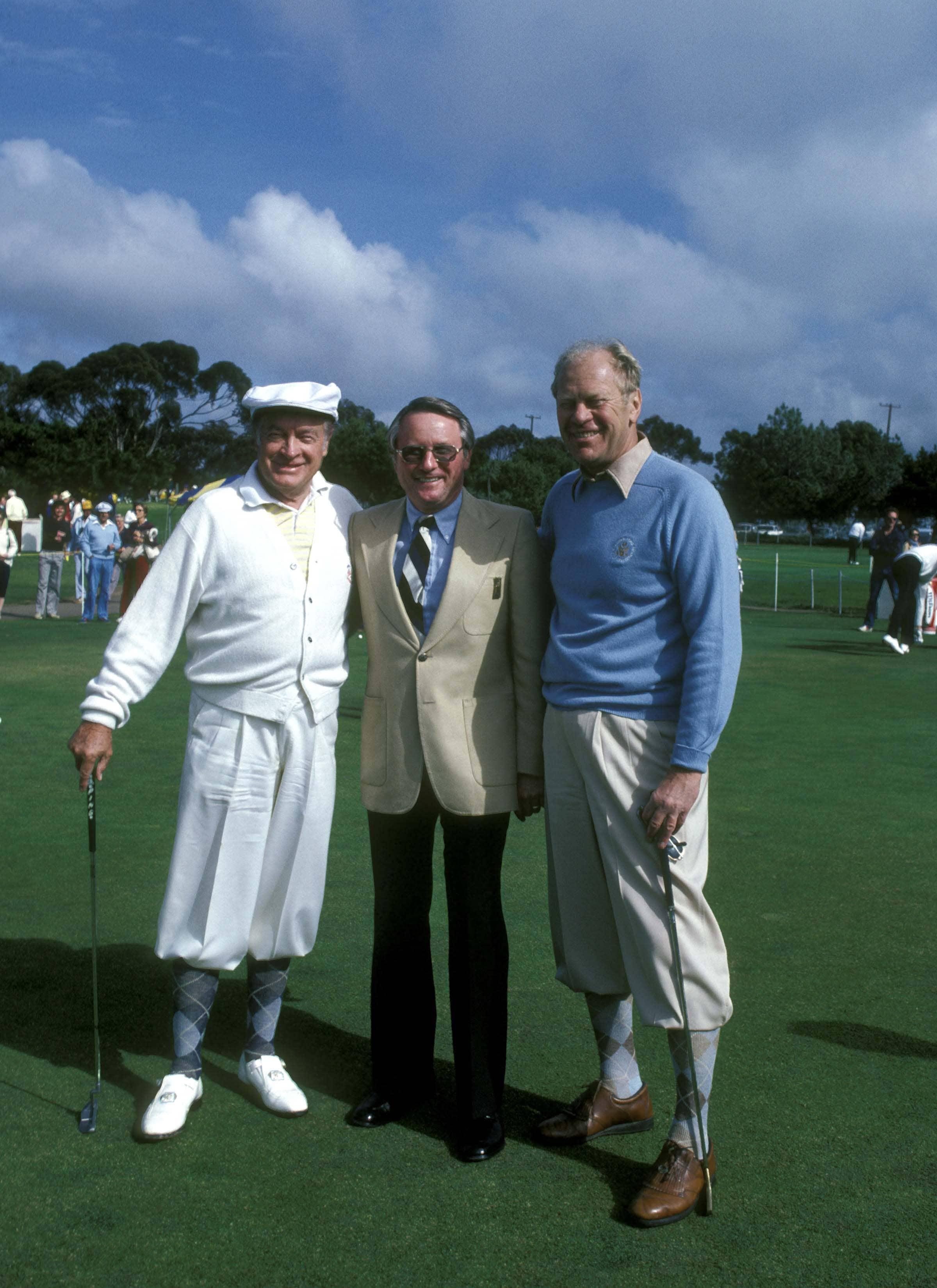Bob Hope, Deane Beman and Gerald Ford
