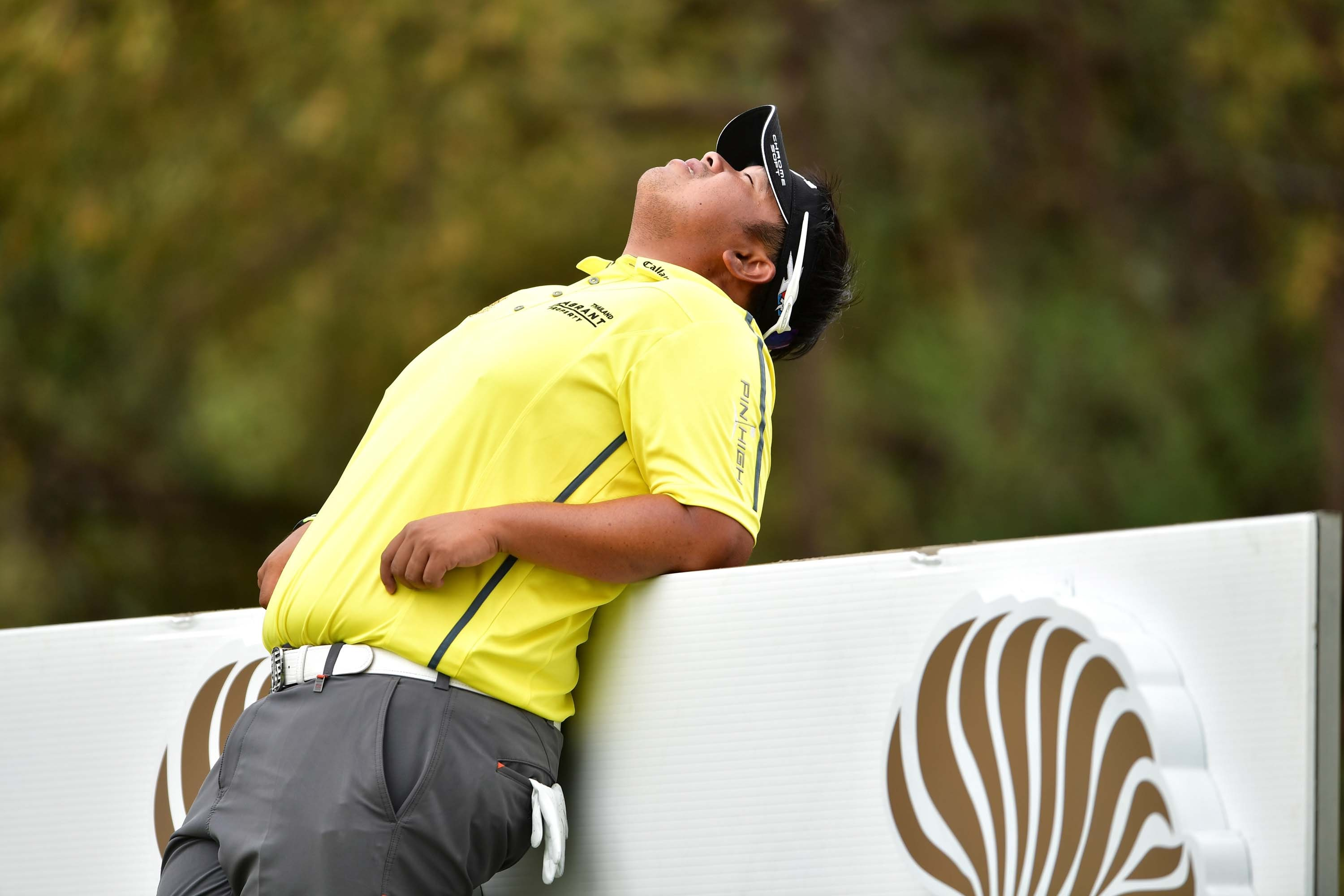 When you've been carrying your best-ball partner all day