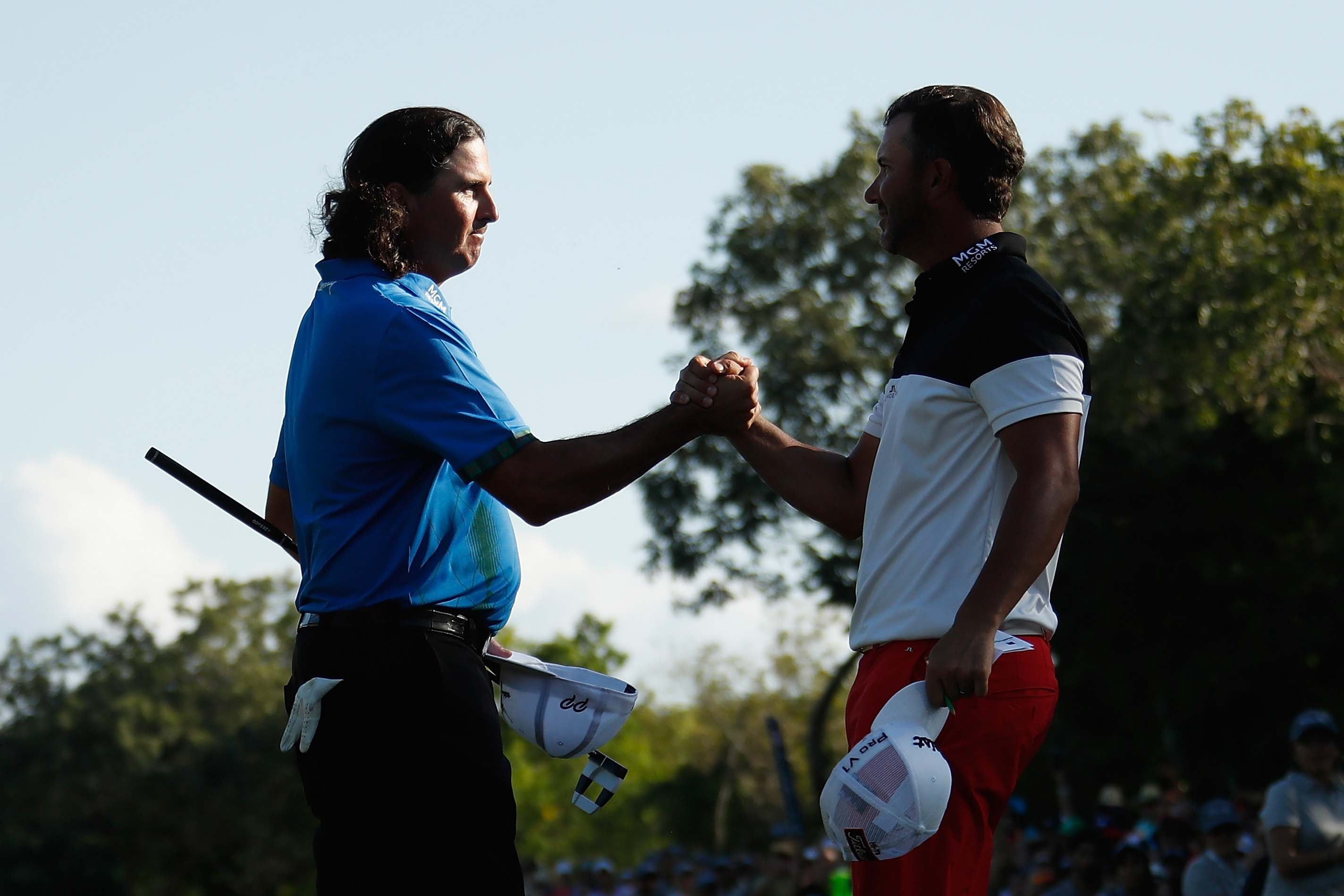 Pat Perez and Scott Piercy
