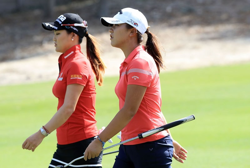 So Yeon Ryu and Lydia Ko