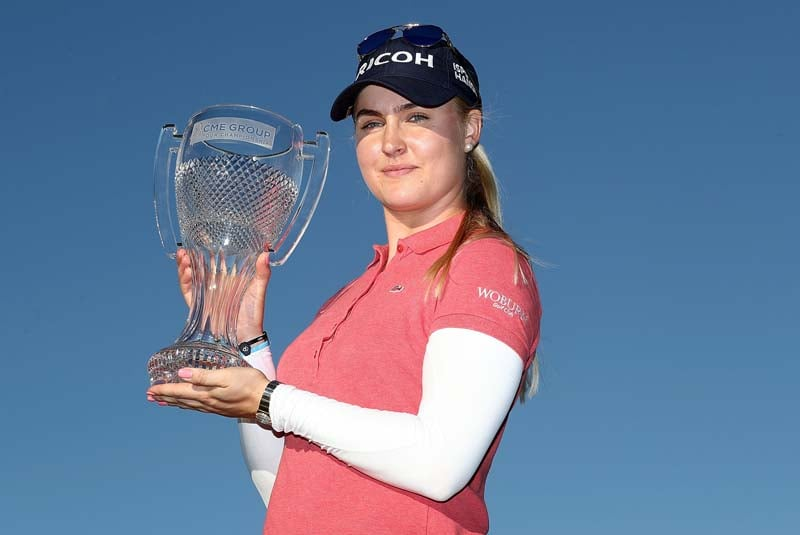 CME Group Tour Championship: Charley Hull