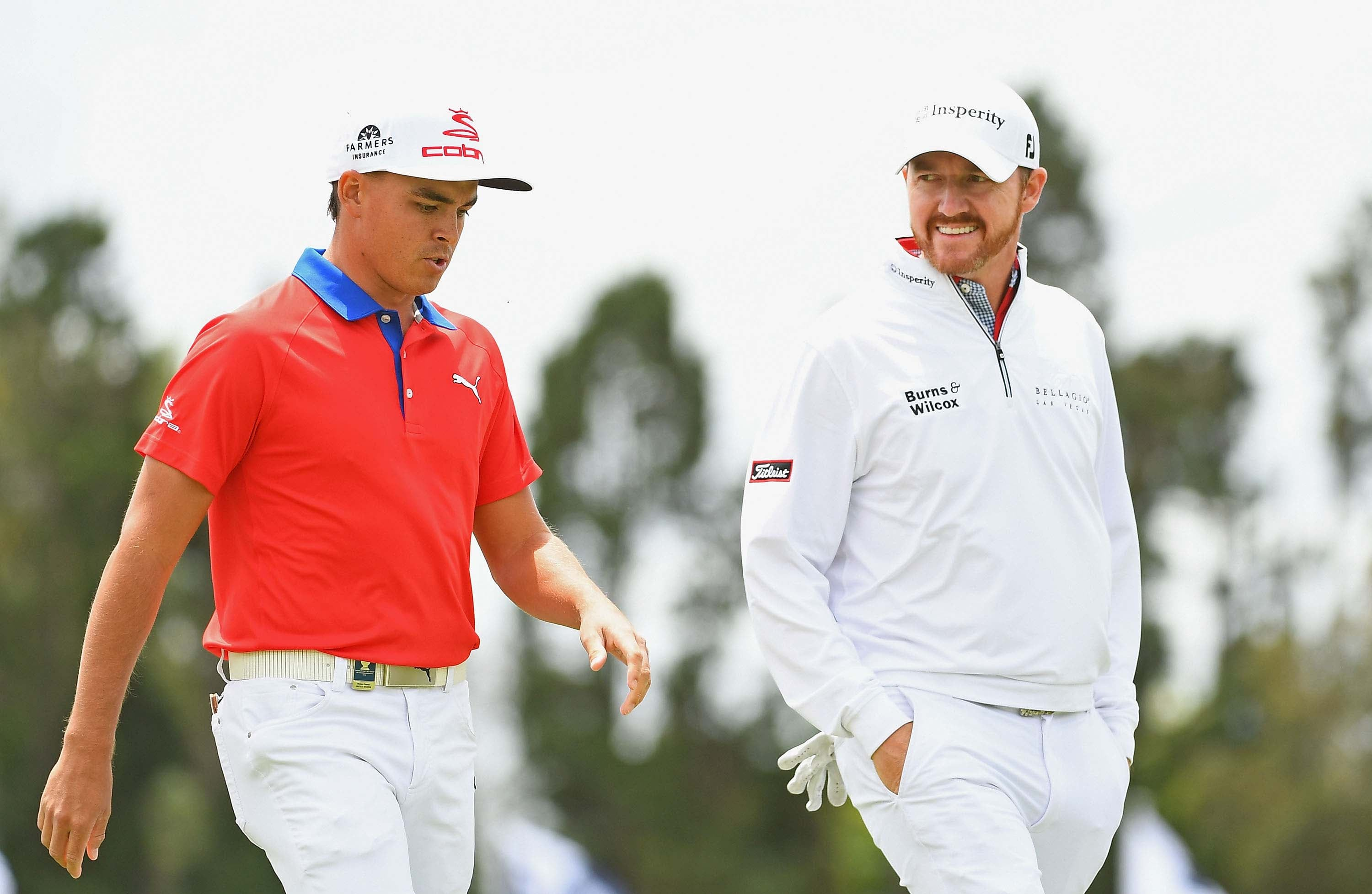 Rickie Fowler and Jimmy Walker