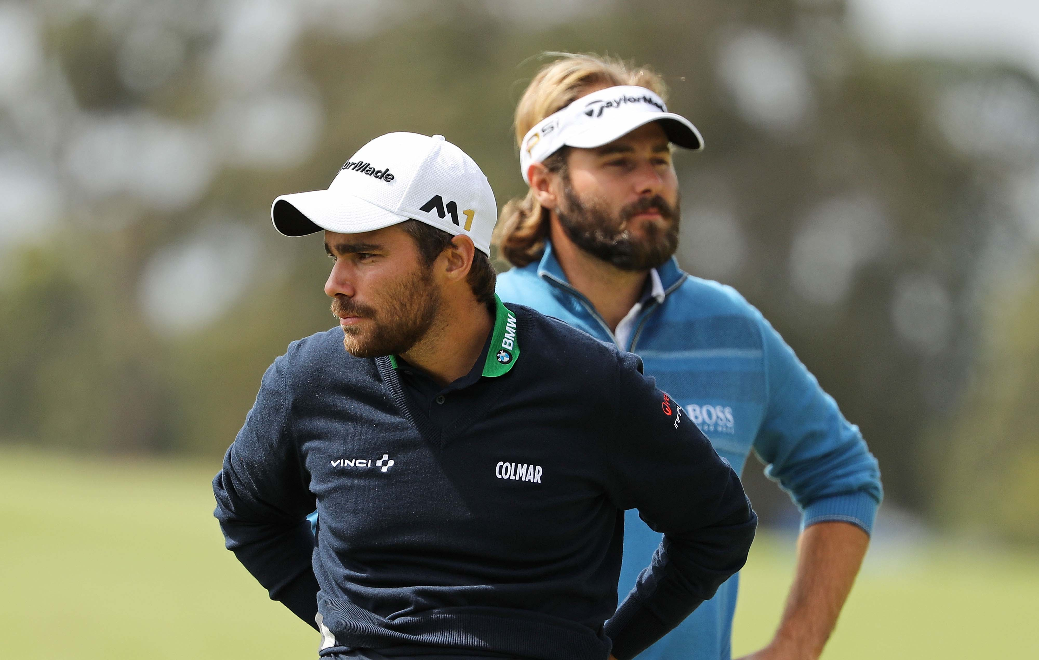 Victor Dubuisson and Romain Langasque