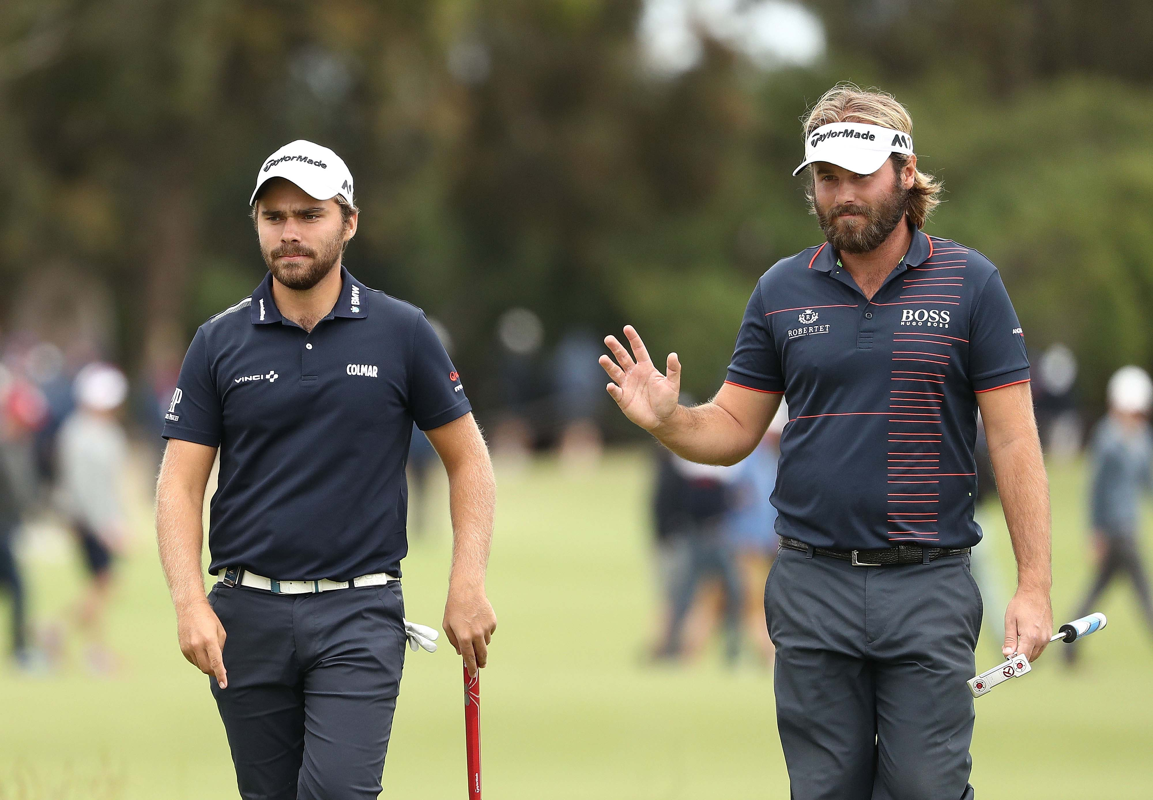 Romain Langasque and Victor Dubuisson