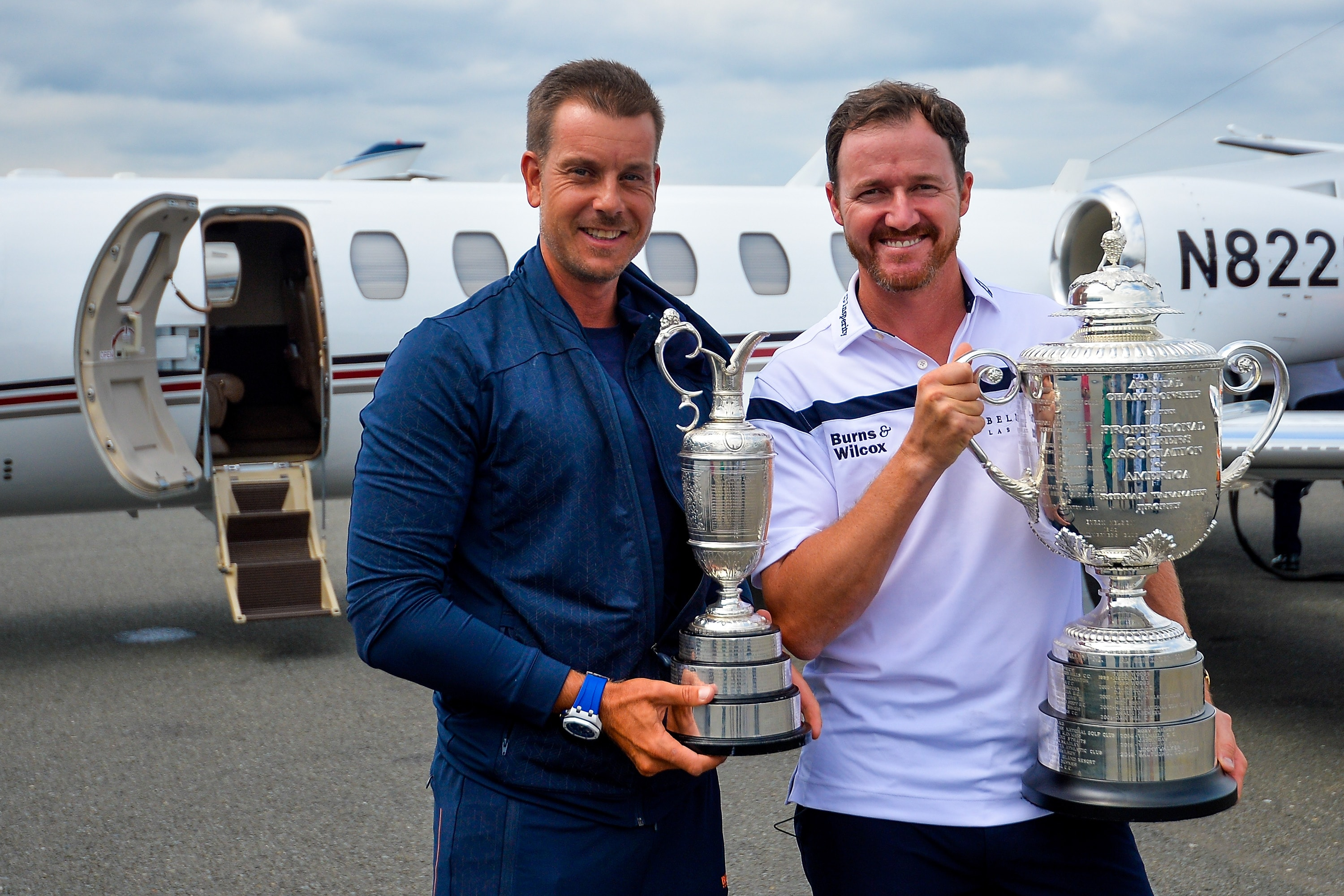 Henrik Stenson and Jimmy Walker