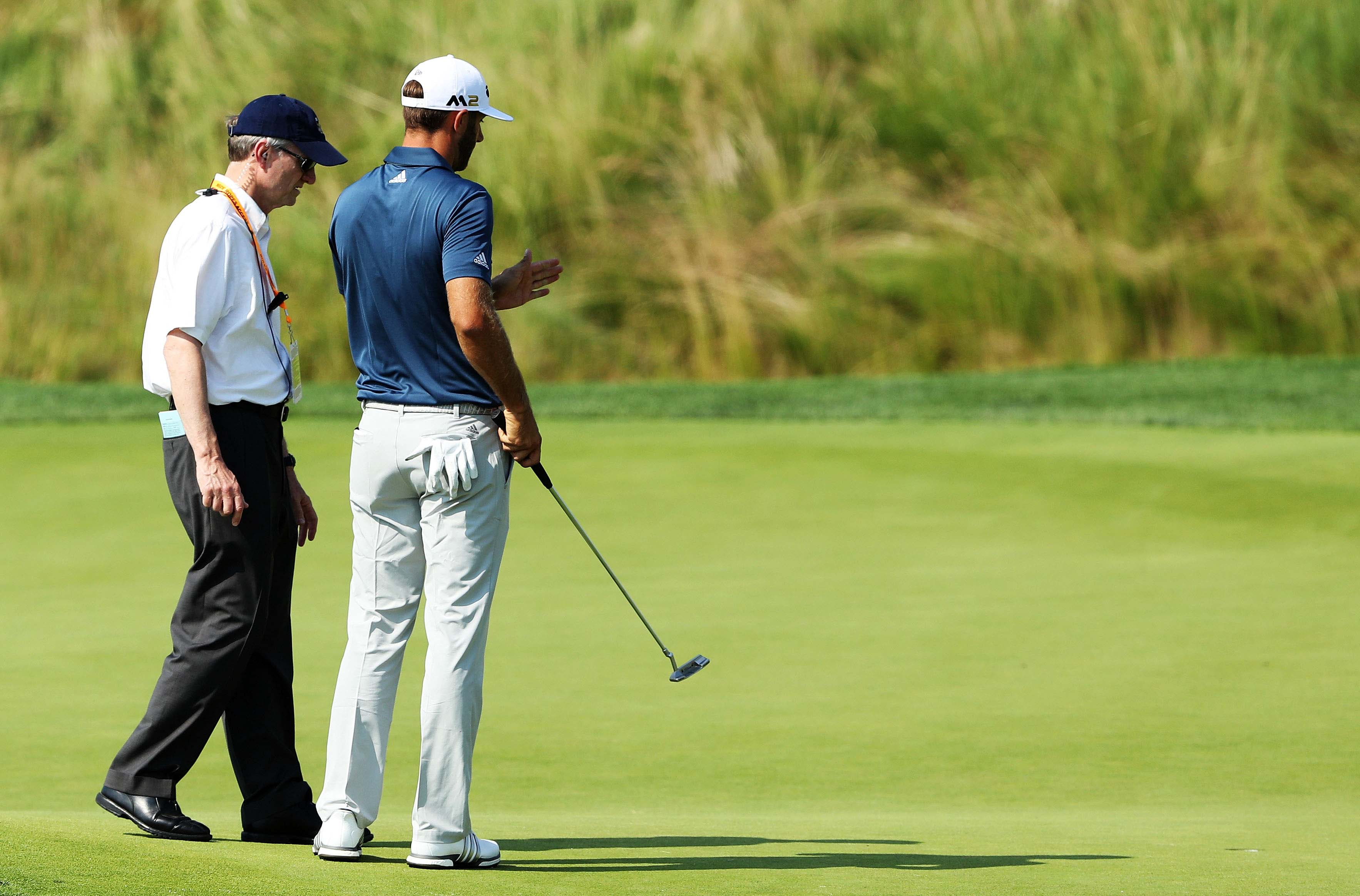 U.S. Open: DJ's delayed penalty