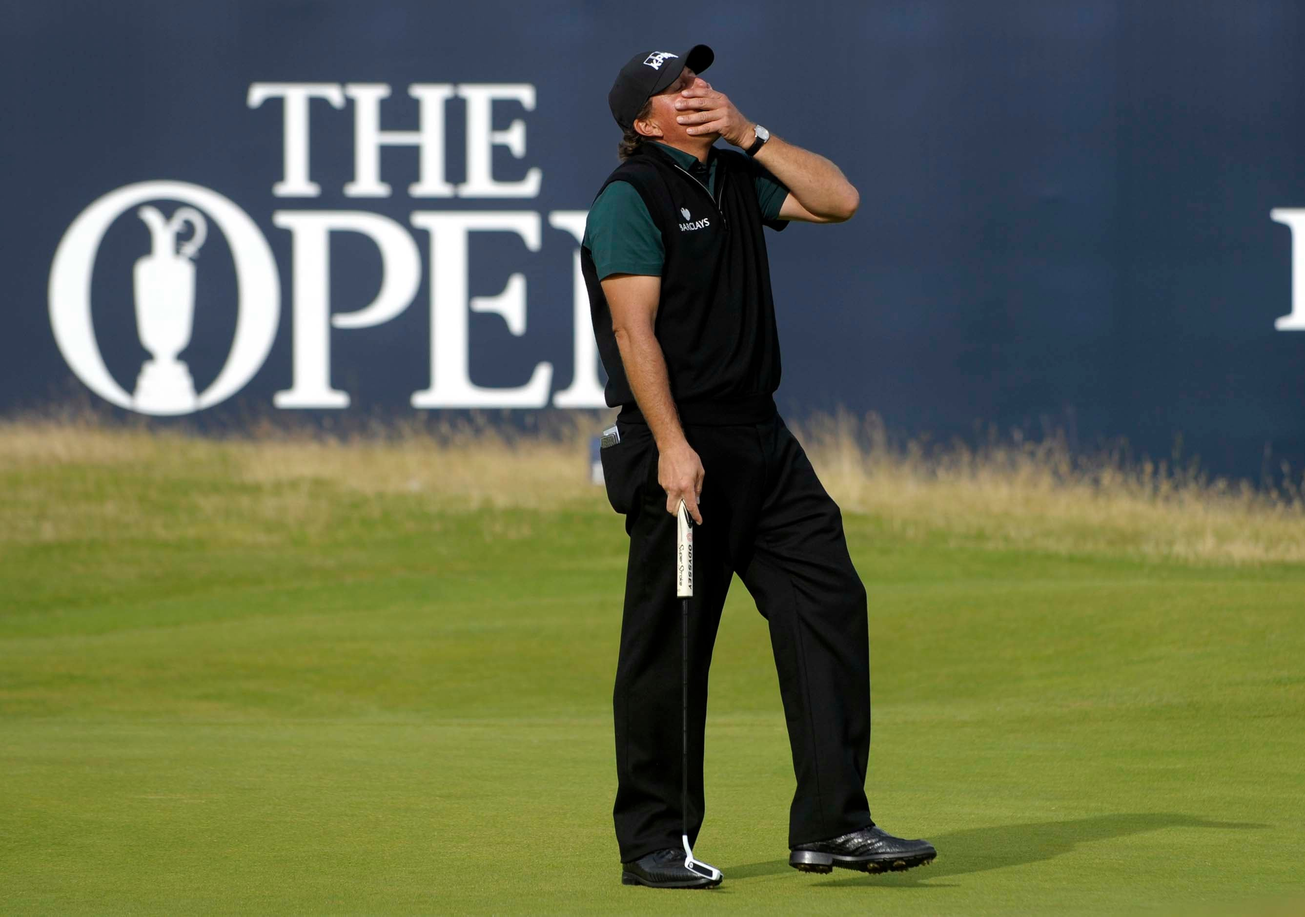 The Open: Phil shoots 63