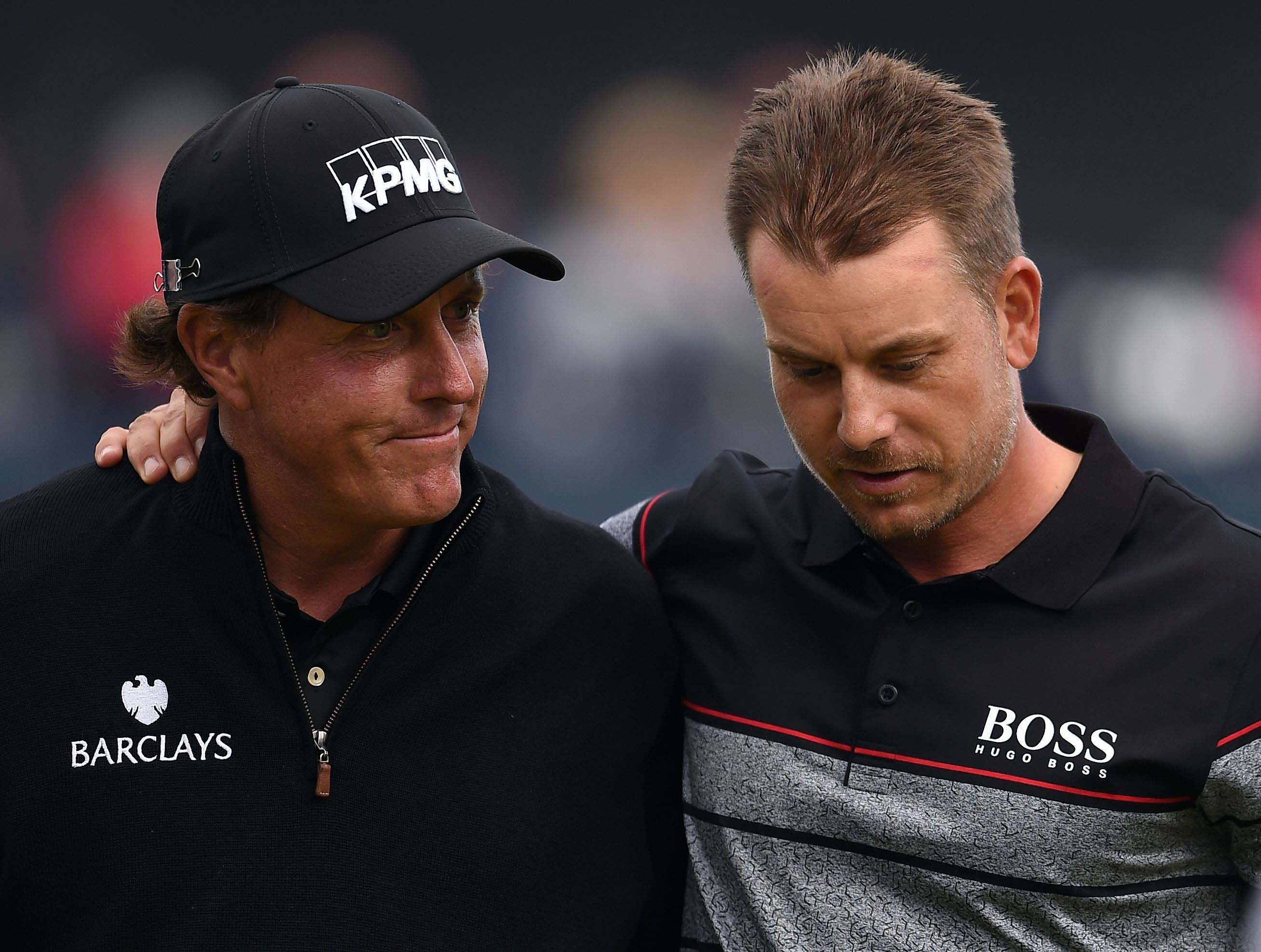 The Open: Stenson outduels Mickelson for first major