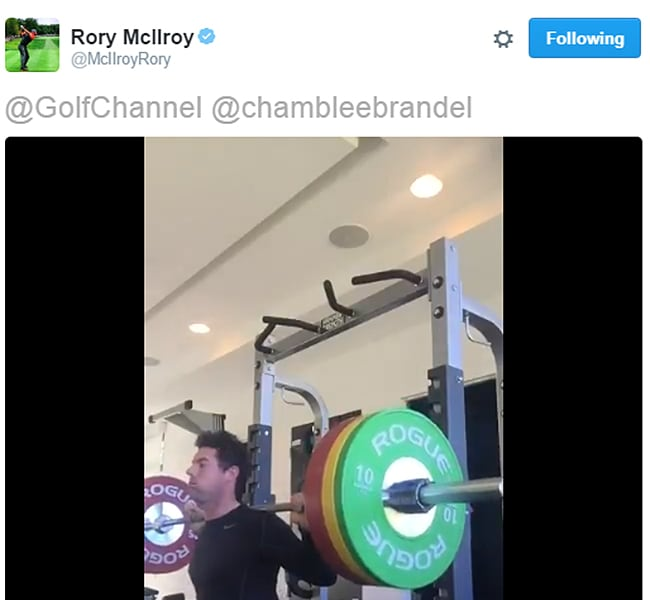 Rory fires back at Chamblee