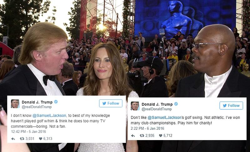 Donald Trump vs. Samuel L. Jackson