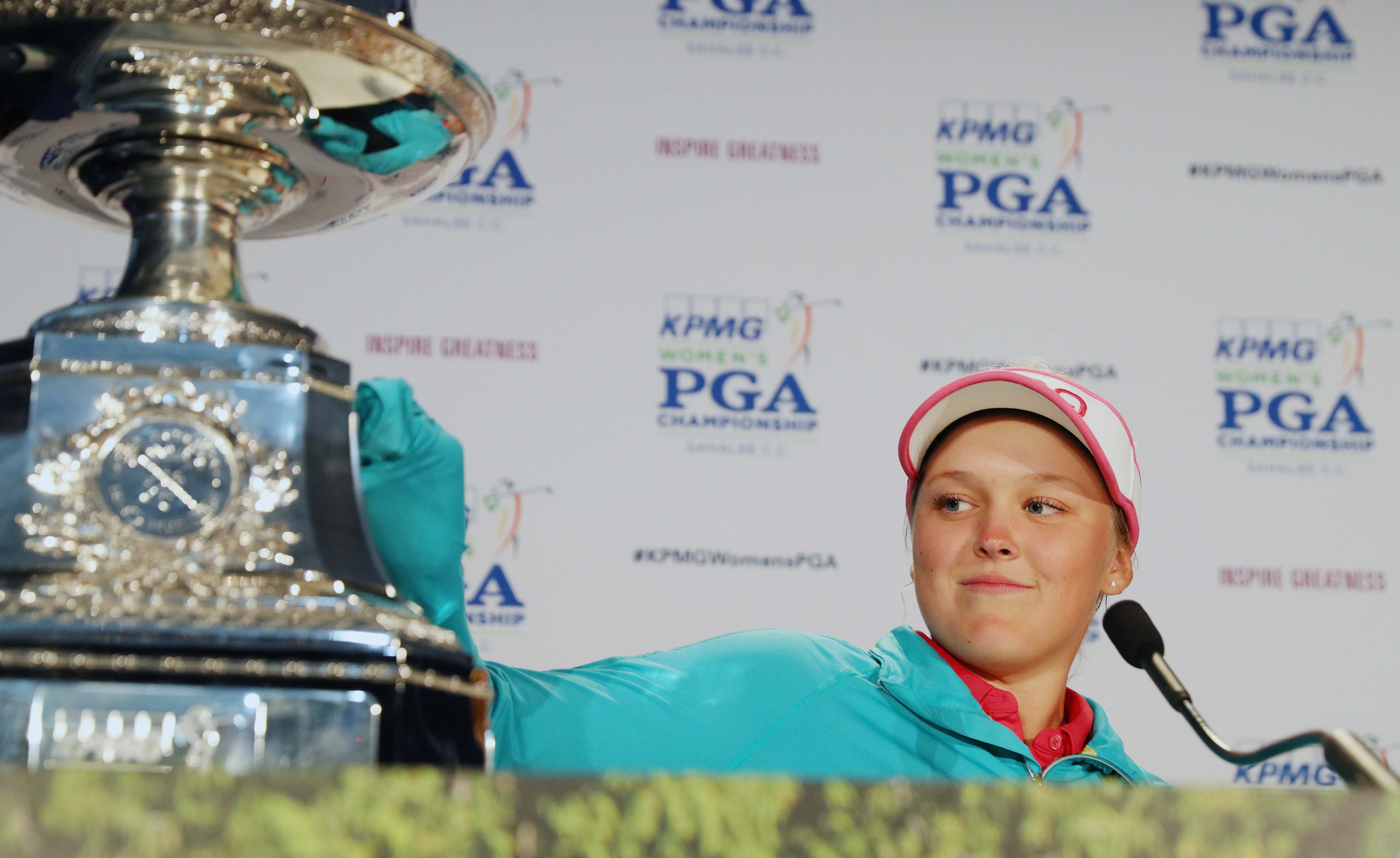 At Women's PGA, youth is served