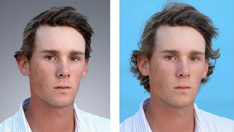 PGA Tour alters Pieters headshot