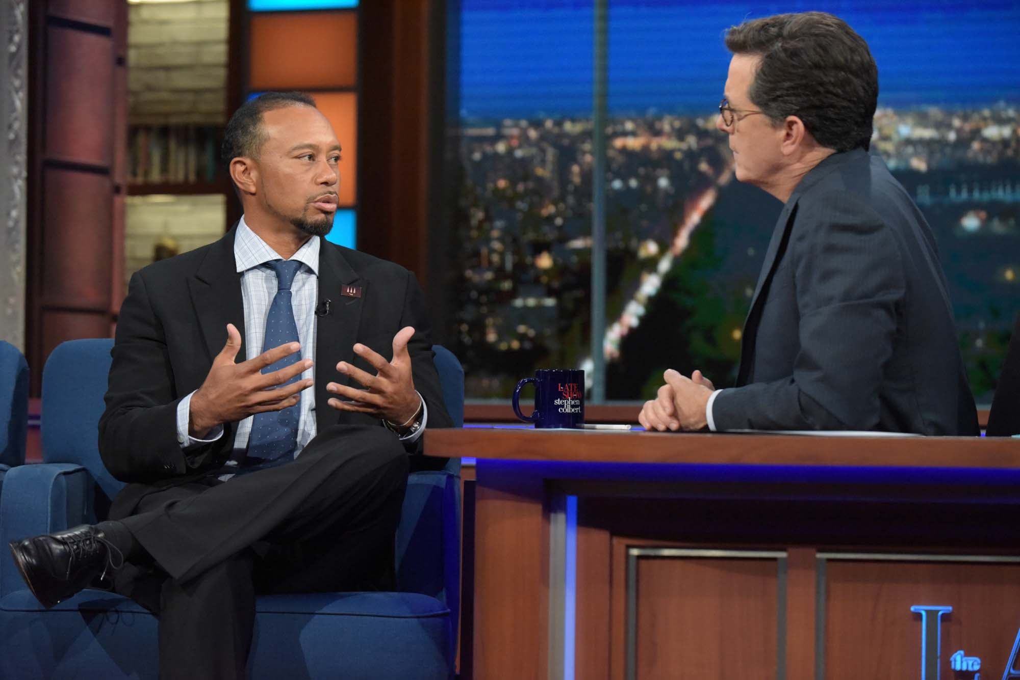 So is late-night TV