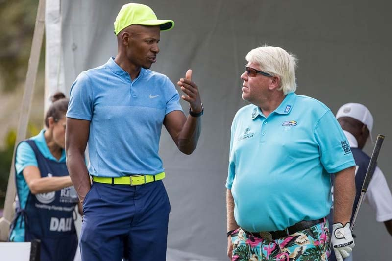 Ray Allen and John Daly