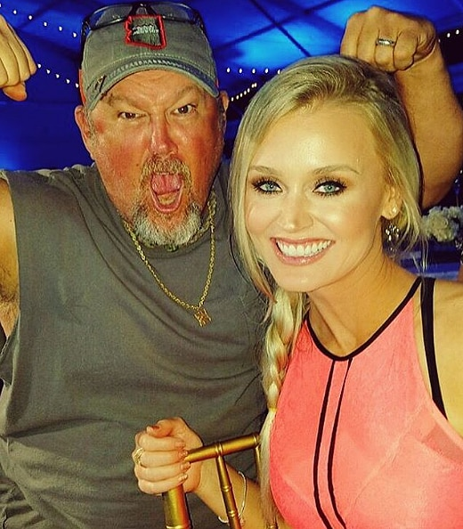Blair O'Neal and Larry the Cable Guy